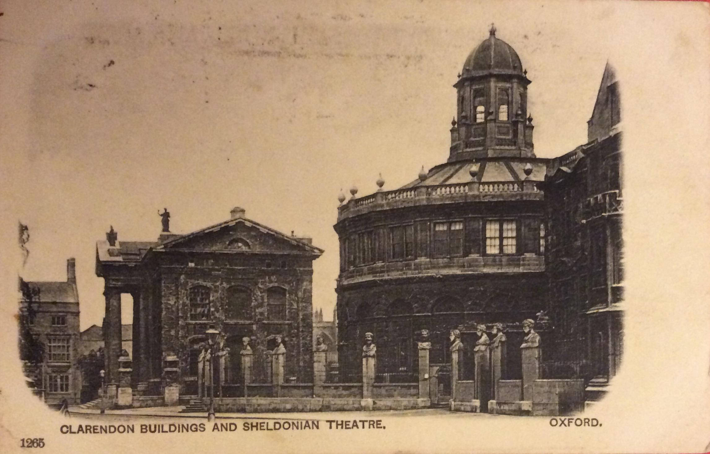 1905 Mirror writing sent to Isleworth