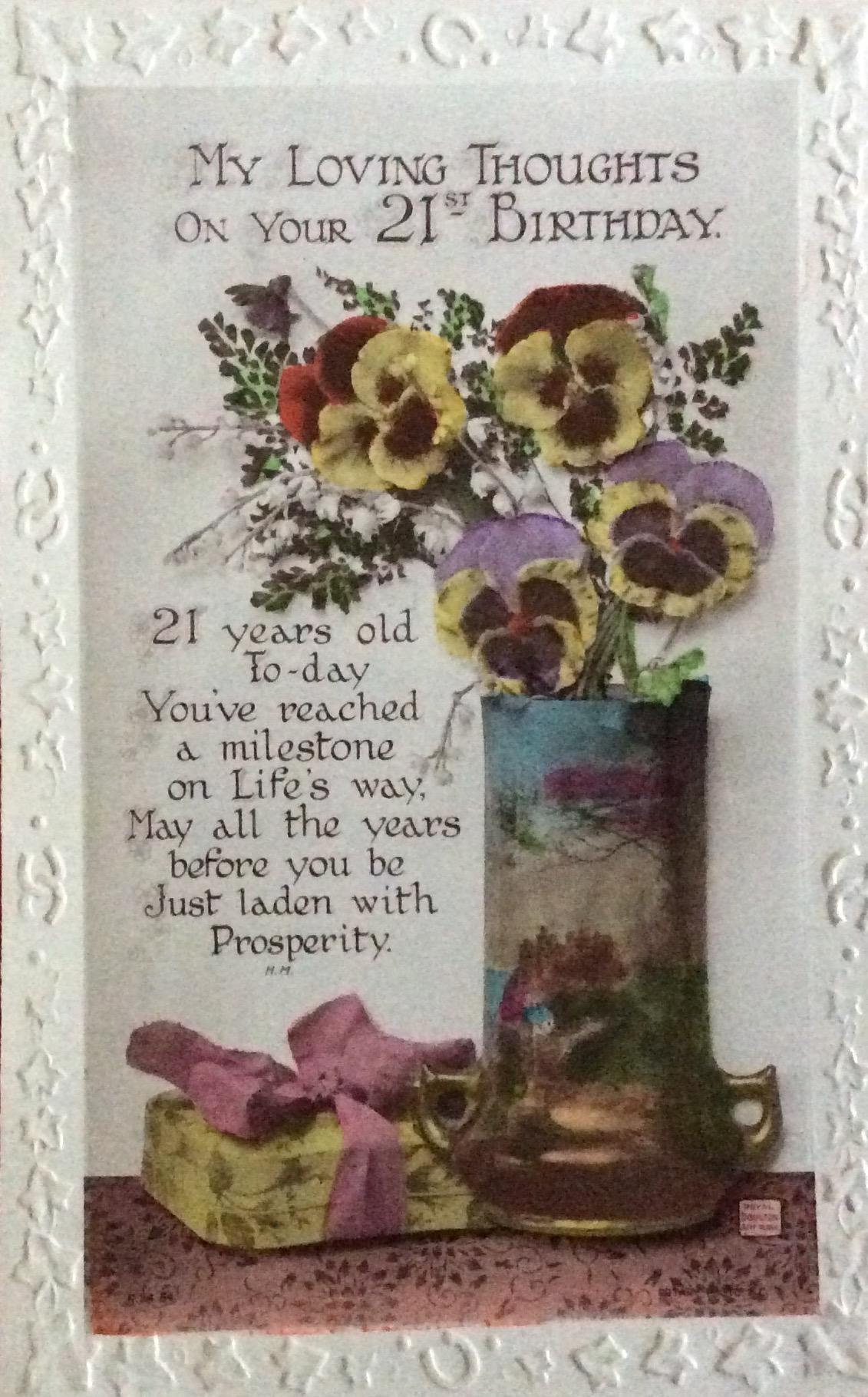 1923 Nov 19 Happy 21st Birthday