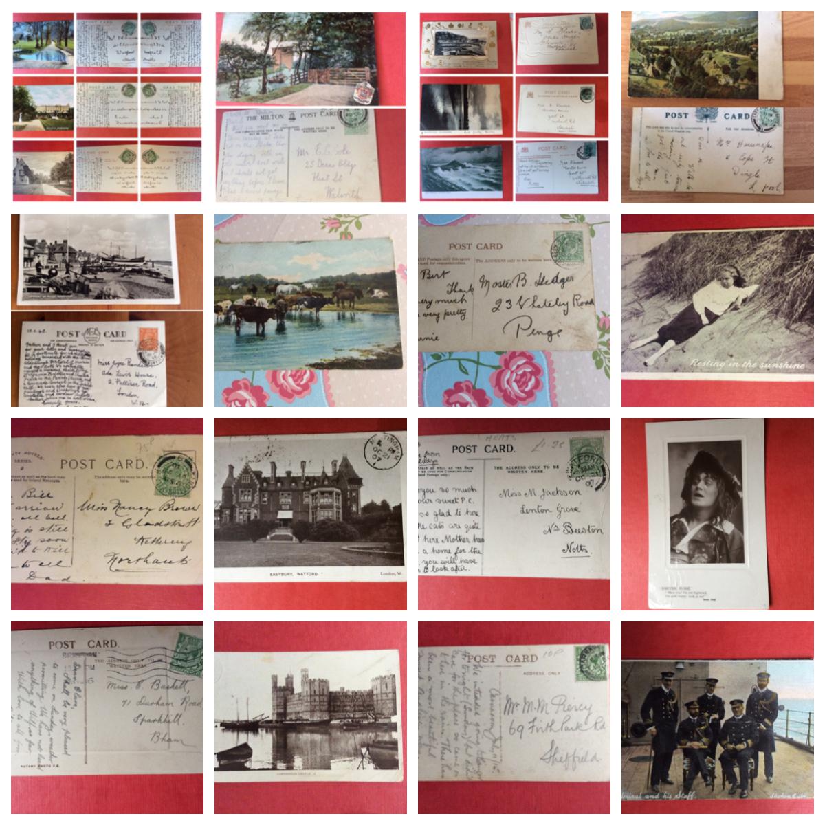Returned Postcards