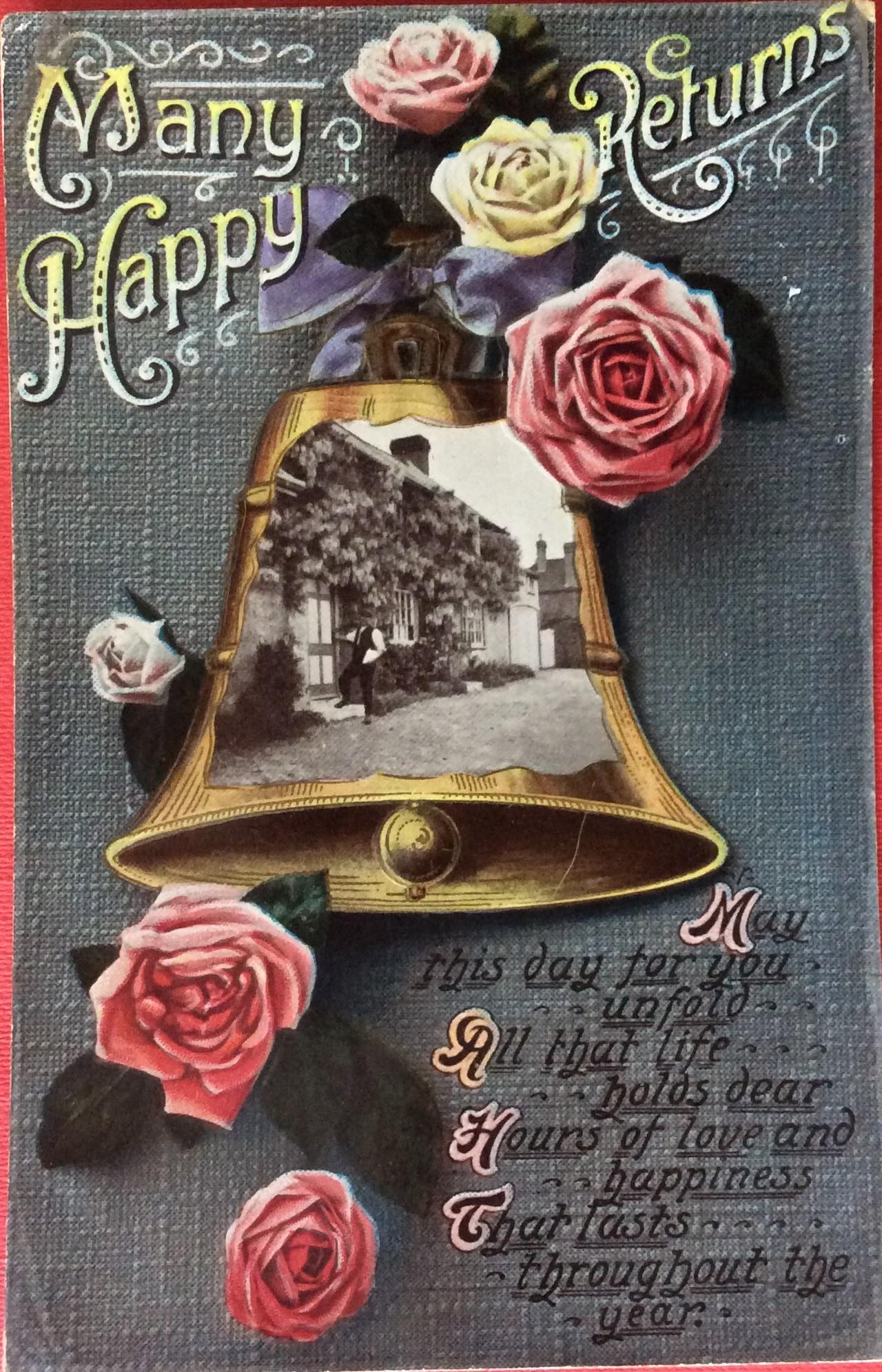Birthday & Christmas Postcards