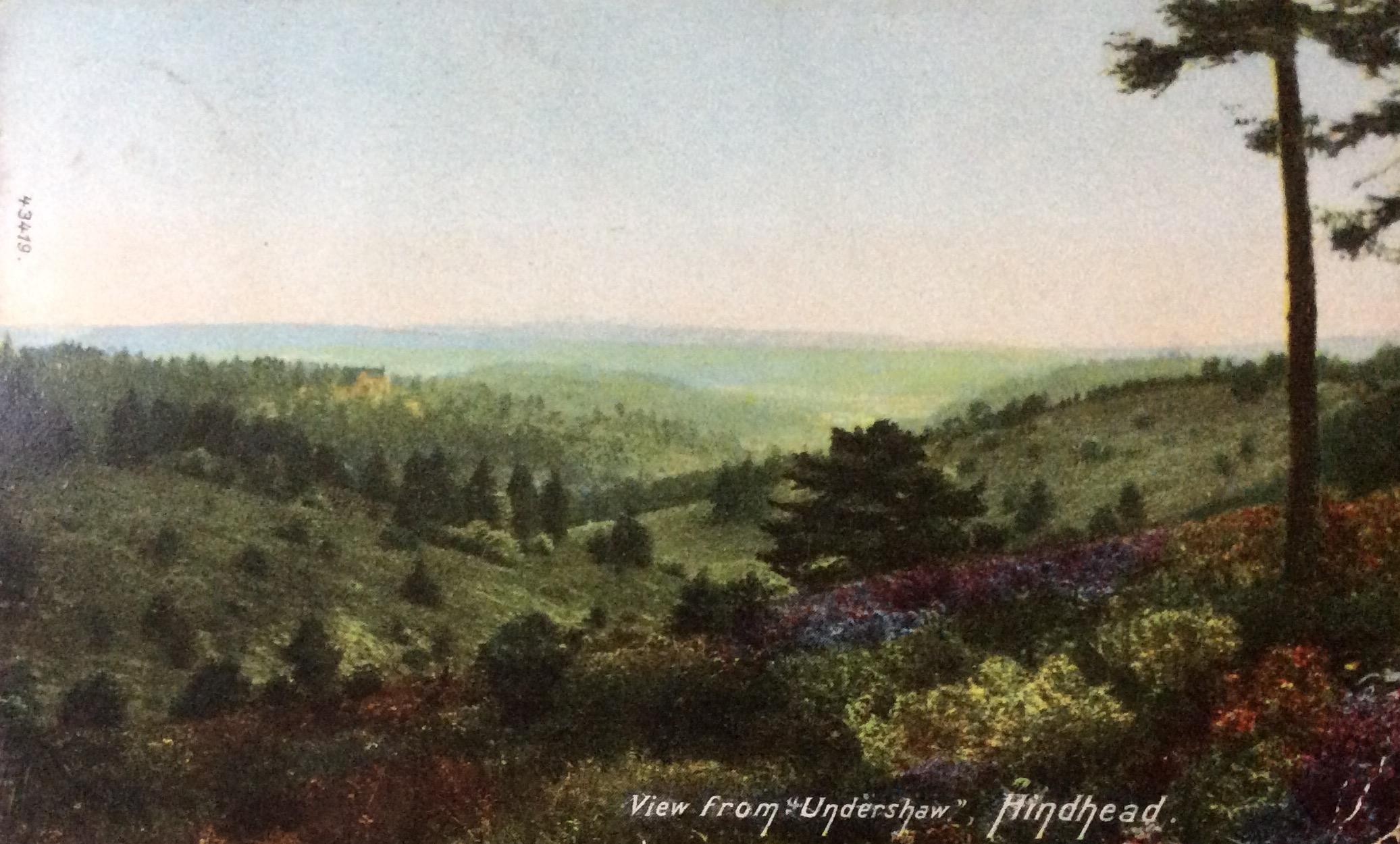 1905 Miss A Clarke in Belgravia