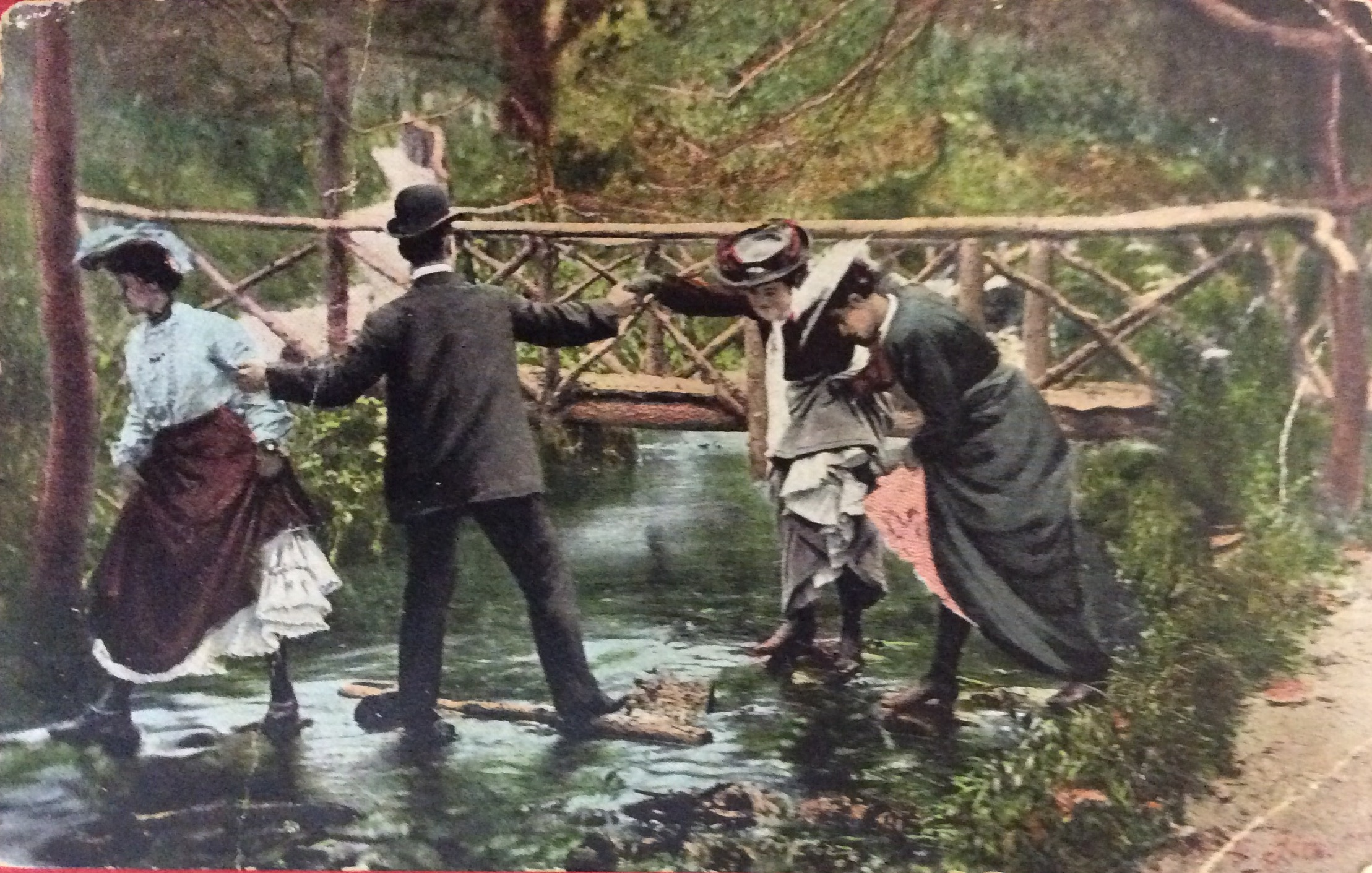 1905 Why Not Use The Bridge?