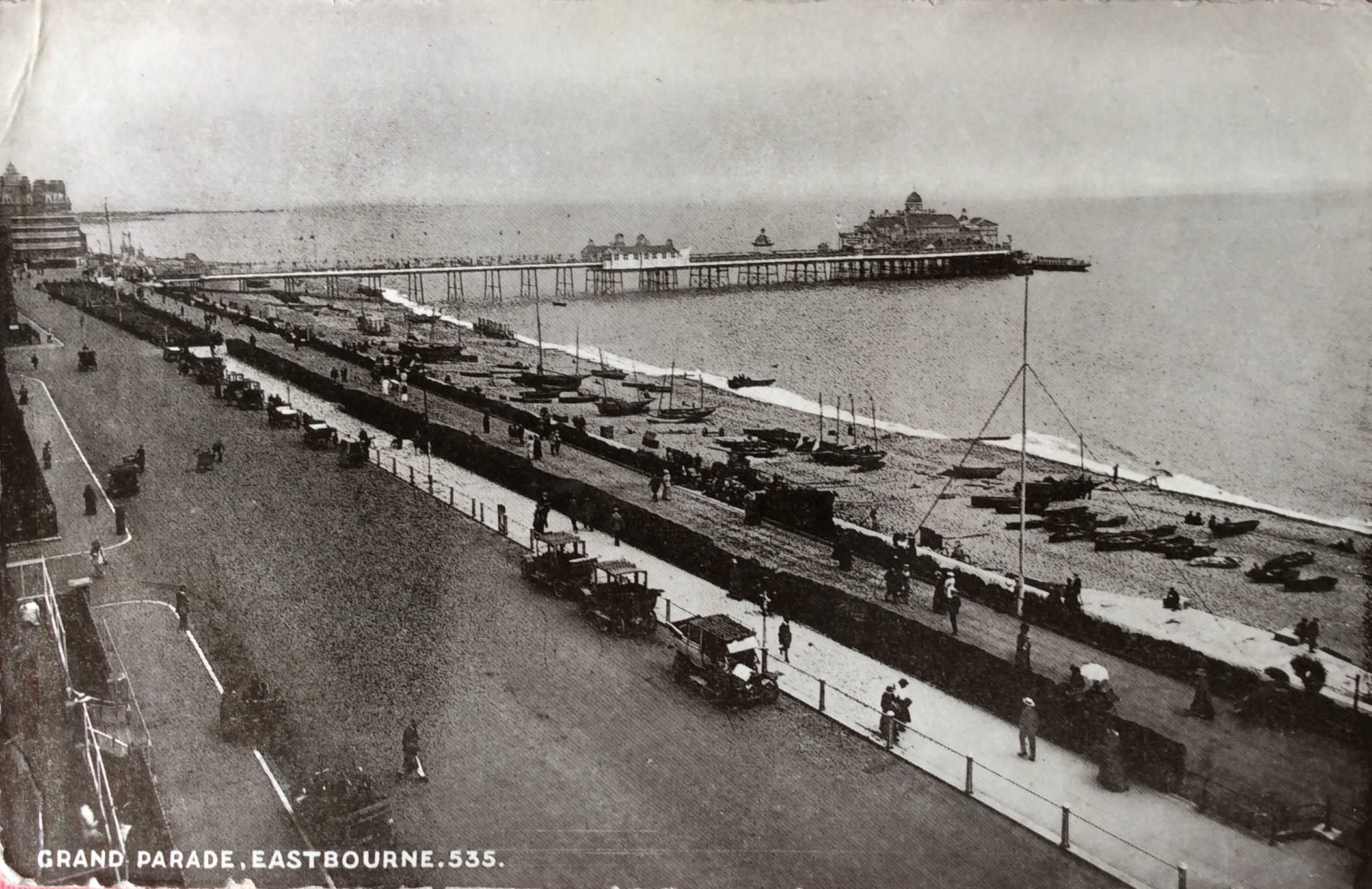 1916 November 11th Postcard from Eastbourne