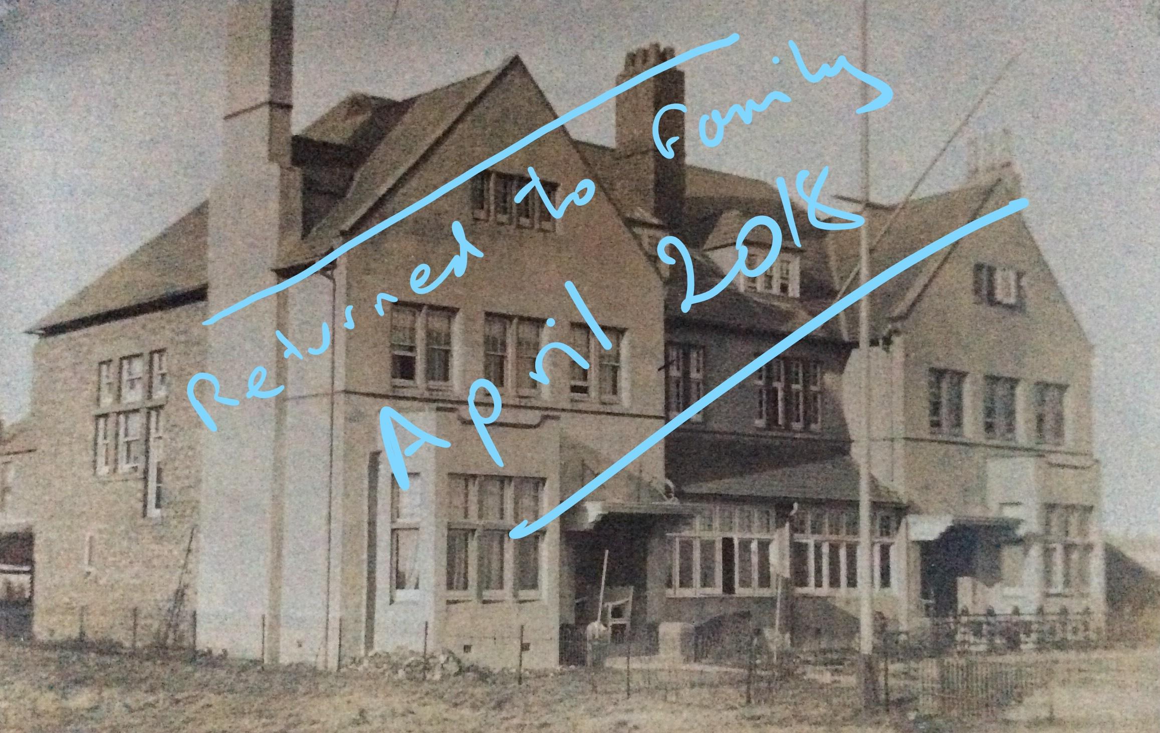 1905 March 20 Hope you got back safely