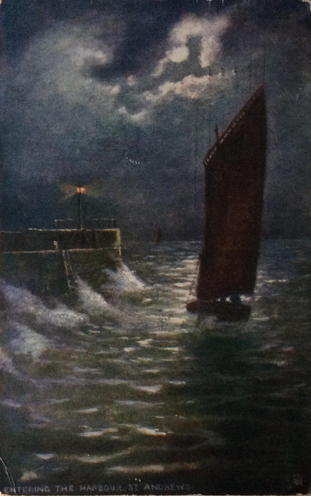1910 August 22 Beatrice Hammond nee Scutcher