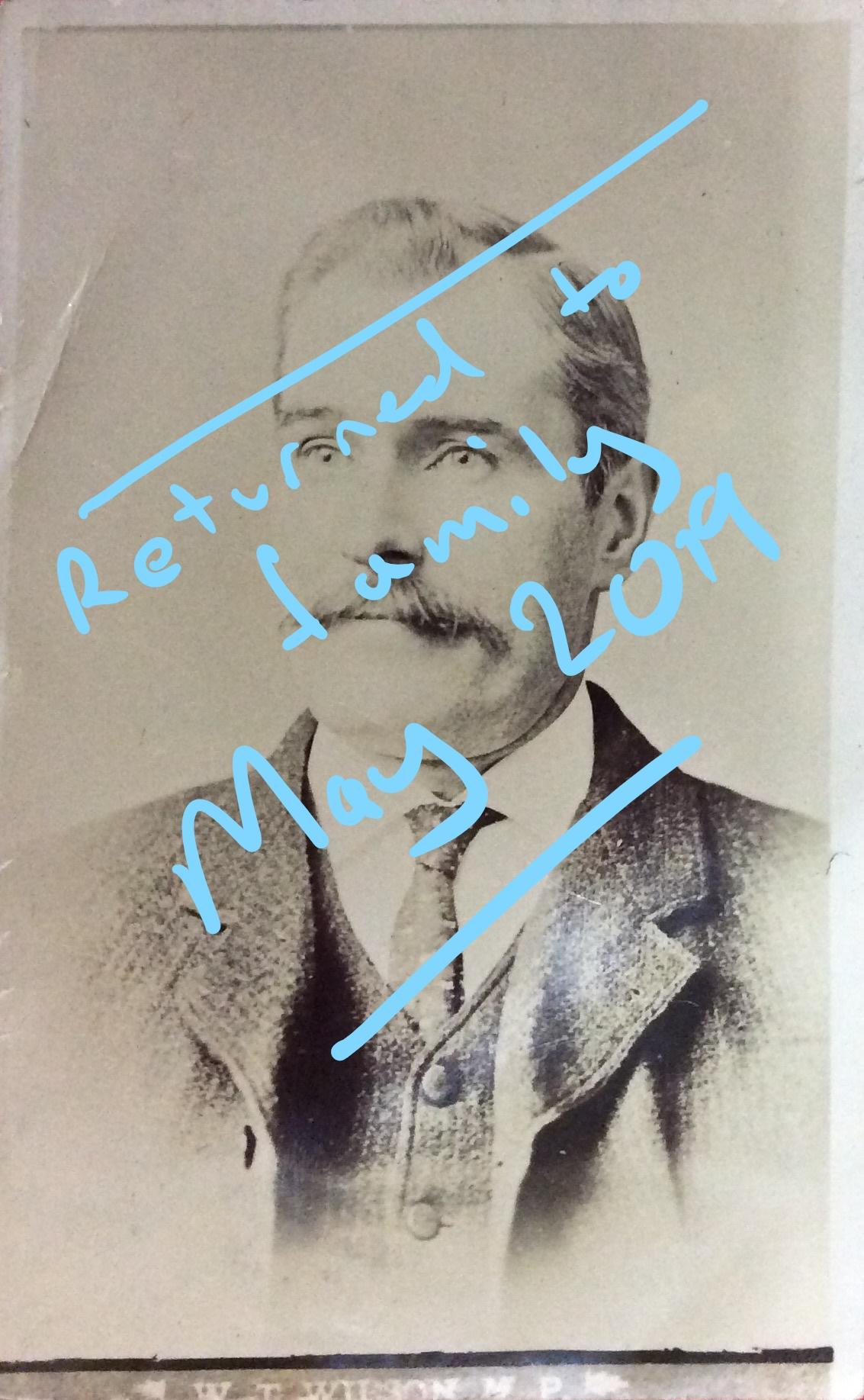 1906 Feb 2 Arthur Cecil Tabor