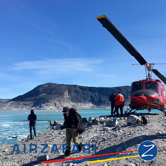 From a private tour by helicopter B212 to the Northern glacier. Enjoying a glass of bubbles on the icecap. #greenland #icecap #ilulissat #nature #planetrip #glacier #icefjord #nothernlights #travel #amazing #airzafarigreenland #ilulissat #kangerlussuaq #arcticocean #arctic #fjords #whalewatching #whale #explore #ice #instacool #traveltheworld #comeflywithus