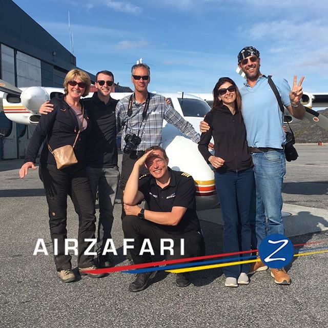 """We definitely will do this again! It was amazing!"" A spontaneous saying from happy guests today. .  Meet us, contact and booking in Kangerlussuaq and Ilulissat Airports, your hotel or stop by our office in Ilulissat. . #comeflywithus #greenland #ilulissat #kangerlussuaq #airzafarigreenland #aviation #glacier #arctic #arcticocean #whalewatching #whale #amazing #ice #traveltheworld #explore #icefiord #nature #icecap #instacool #UNESCO"