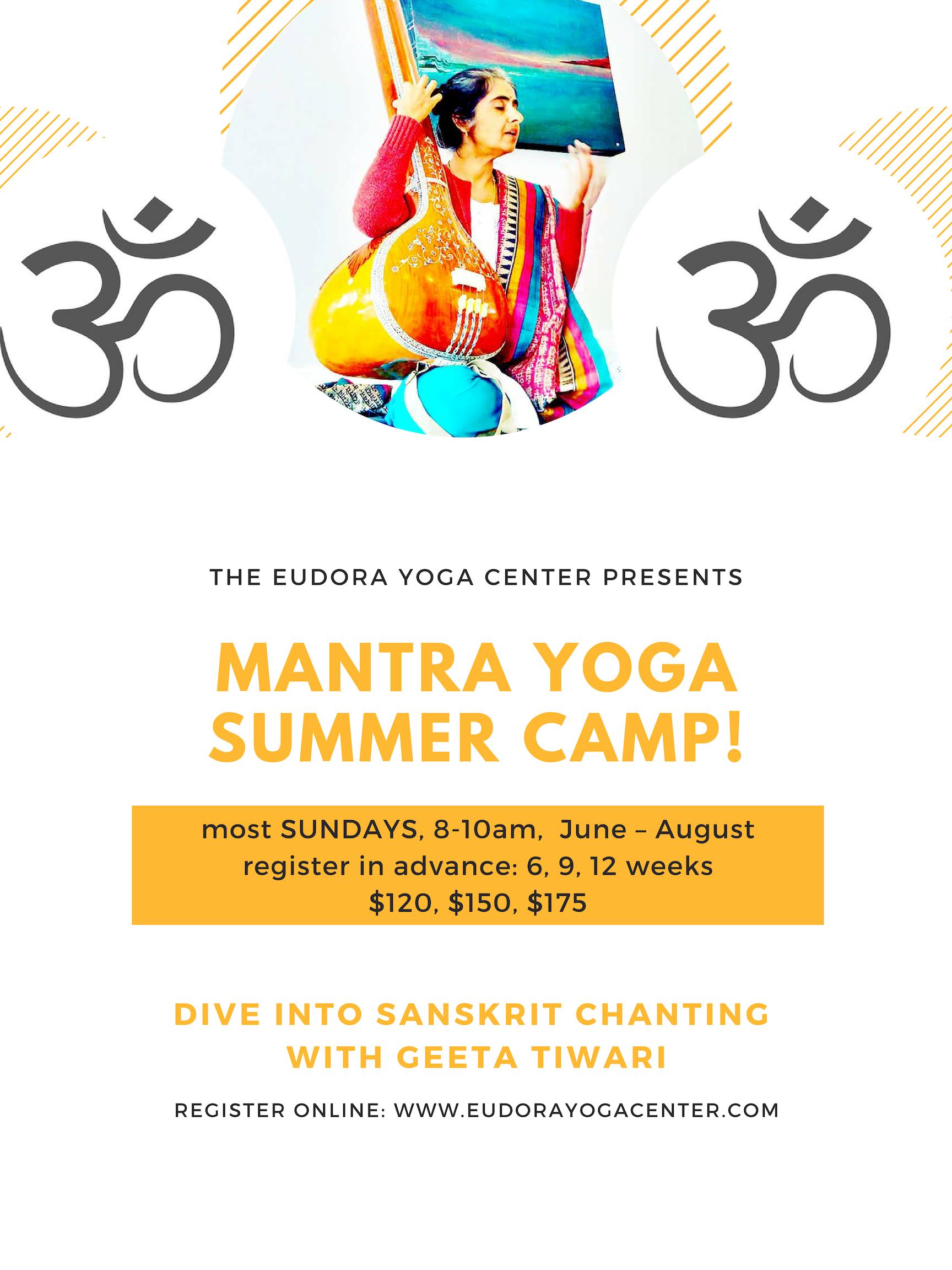 Mantra Yoga Summer Camp