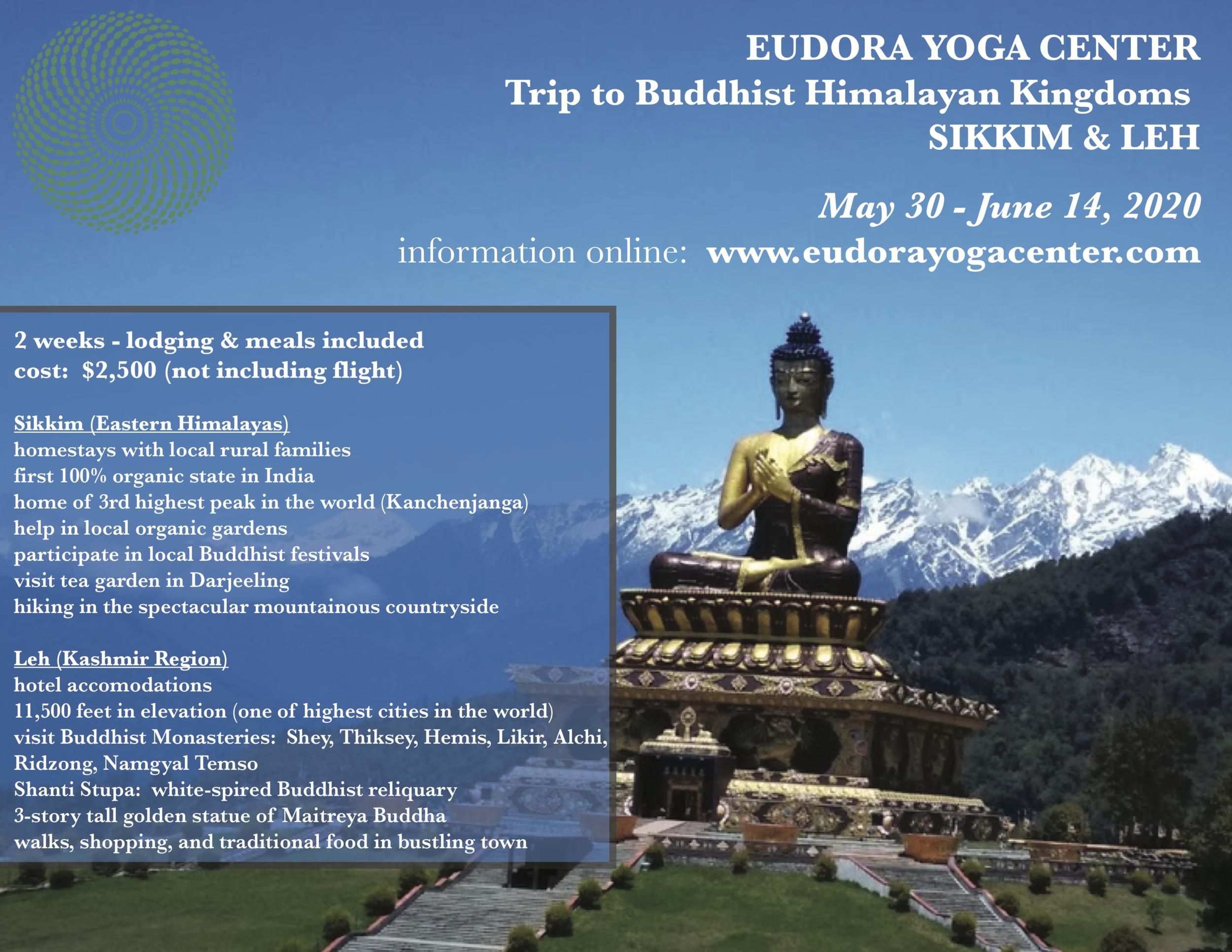 EYC TRIP TO BUDDHIST HIMALAYAN KINGDOMS