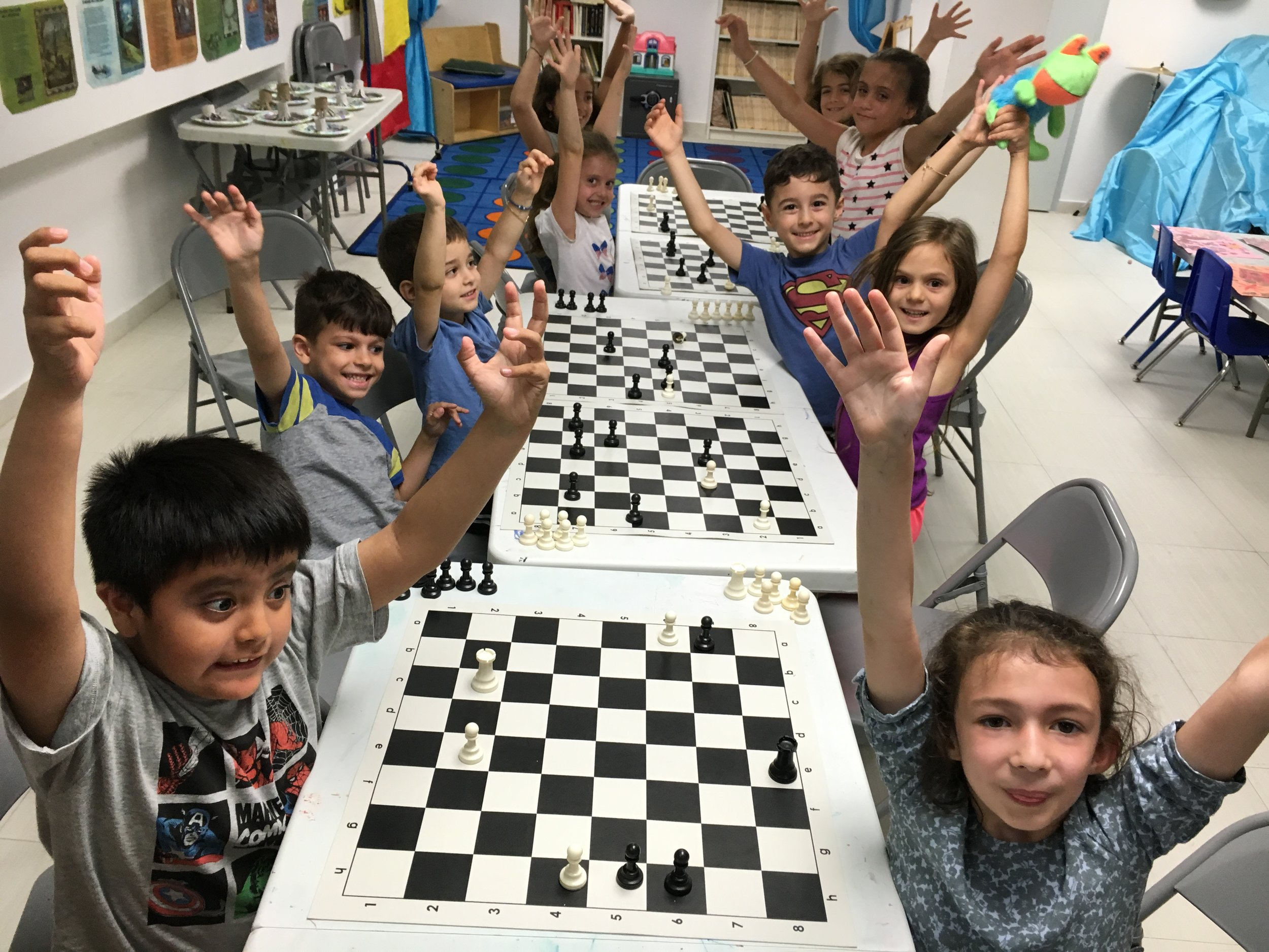 Chess Club - Enjoy our TeamAll ages and levels are welcome.Classes 2017-2018Fridays: 6-7 pm,Saturdays: 1-2 pm