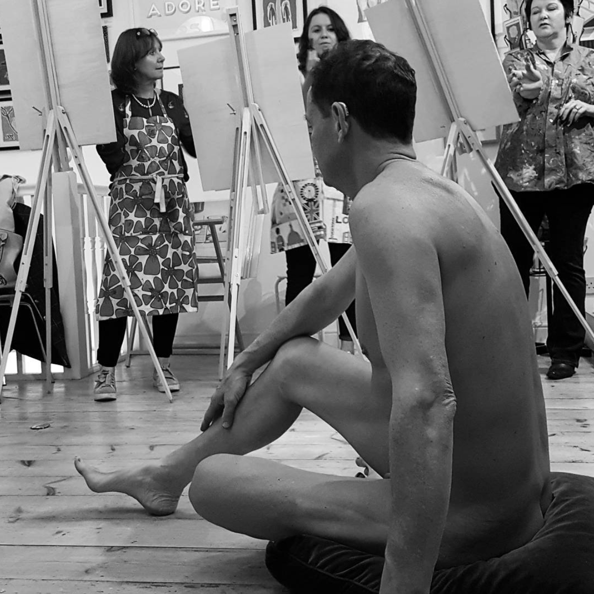 Dumplings Drawings and Drinks 2!     17TH NOVEMBER 2017    Afters a successful Dumplings, Drawings and Drinks part 1, Marks and Tilt are proud to Host a part 2 of this amazing life drawing event !  Tickets ar £50 per person  For more information please email: info@marksandtilt.com  The Host Oliver Marks is an artist who part owns Marks & Tilt Picture Framers and Gallery and has a relaxed approach to tutoring.  The Venue Marks & Tilt is a bespoke picture framers and fine art gallery in the heart of St Albans. The upper level houses a unique Gallery space which enables the public to view bespoke of artworks from the local art scene and the lower level is home to the framing workshop where all frames are made in-house.  The Evening View our private gallery and discuss our latest exhibition  A figure drawing class with nude professional model  A mix of vegetarian and chicken dumplings from a modern Japanese local restaurant, Kimaya  A glass or two of red/white wine, beer or non-alcoholic drink  Critique/Discussion at the end of the evening All materials included  The Requirements  A sense of humour Concentration whilst drawing Conversation