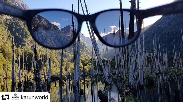 Global Conservation Stories: @karunworld changing the way we see the world and waste. In a beautiful and remote corner of Patagonia is a company recycling plastics and discarded fishing nets into sunglasses. In doing so they are providing locals with employment, revenue and an incentive to keep this part of the world clean.  #conservation #recycle #reuse #waste #fishingnets