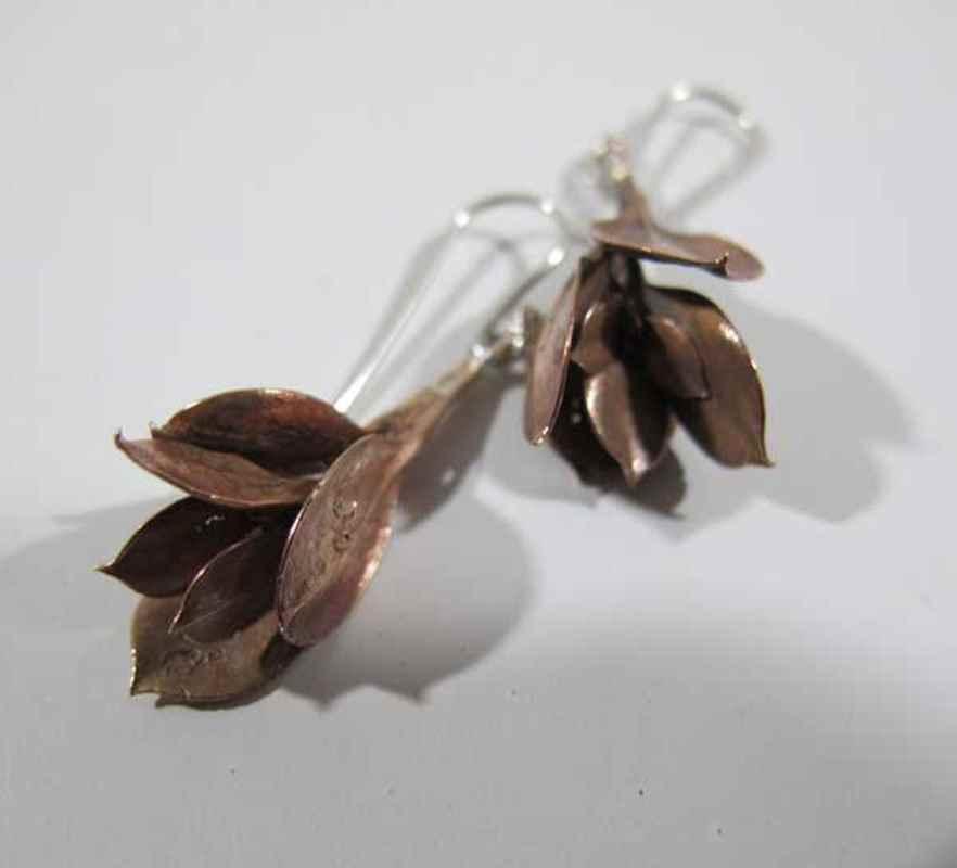 Rooibessie cluster earrings bronze NBE070.jpg