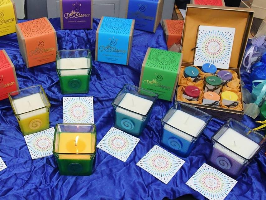 Reiki Essence Candles   - Reiki infused candles