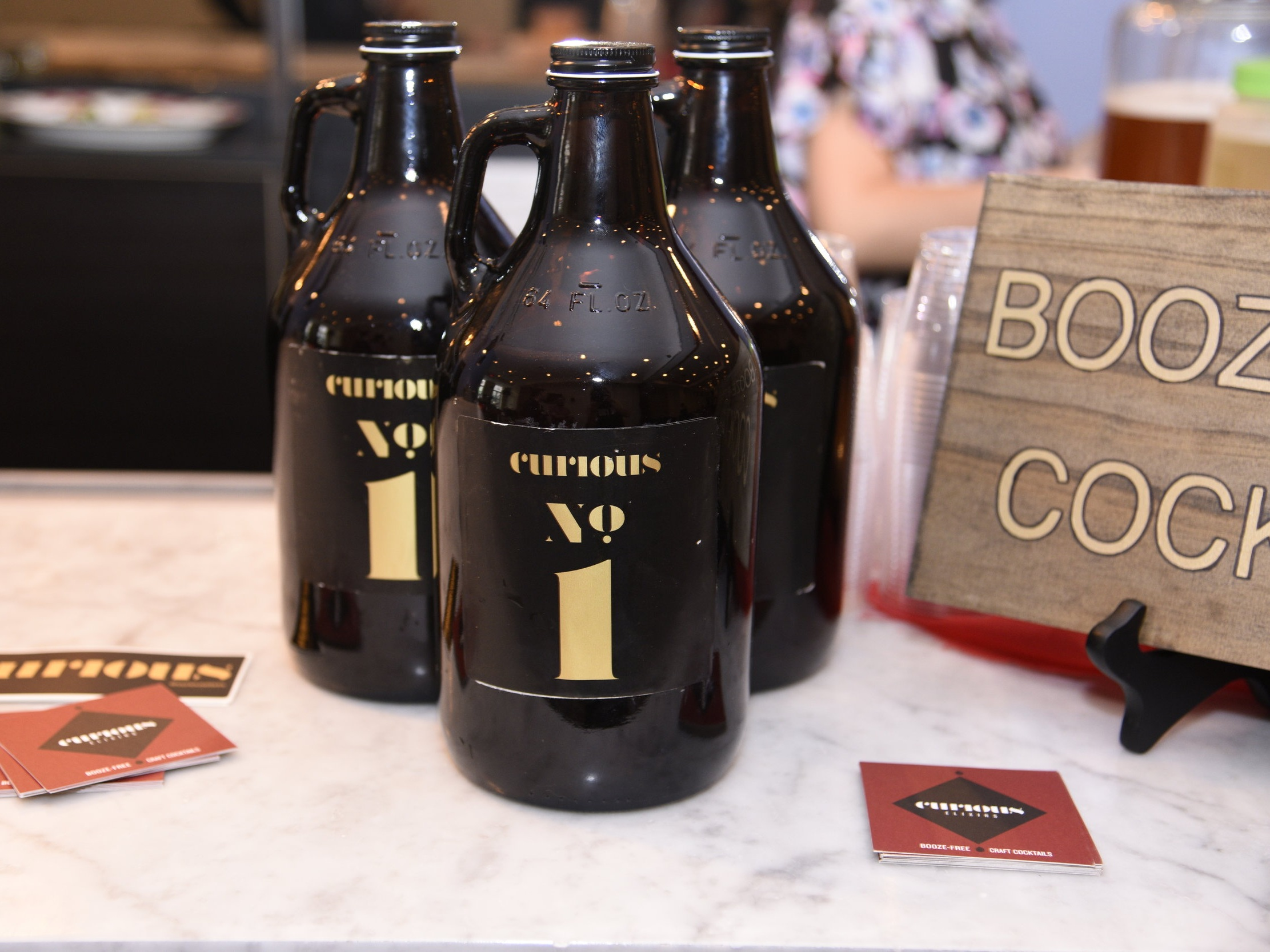Curious Elixirs   - Booze-Free Craft Cocktails