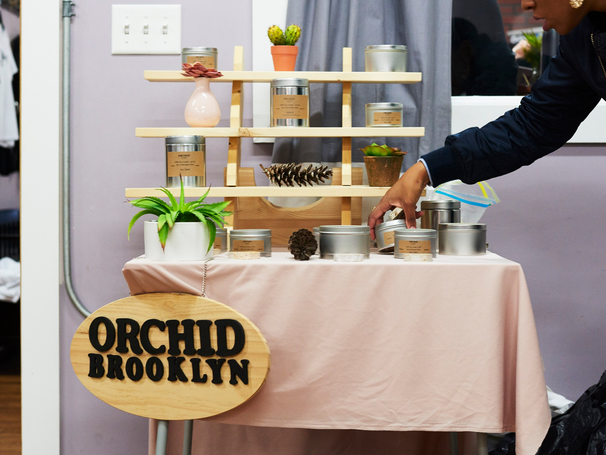 Orchid Brooklyn   - Soy candles