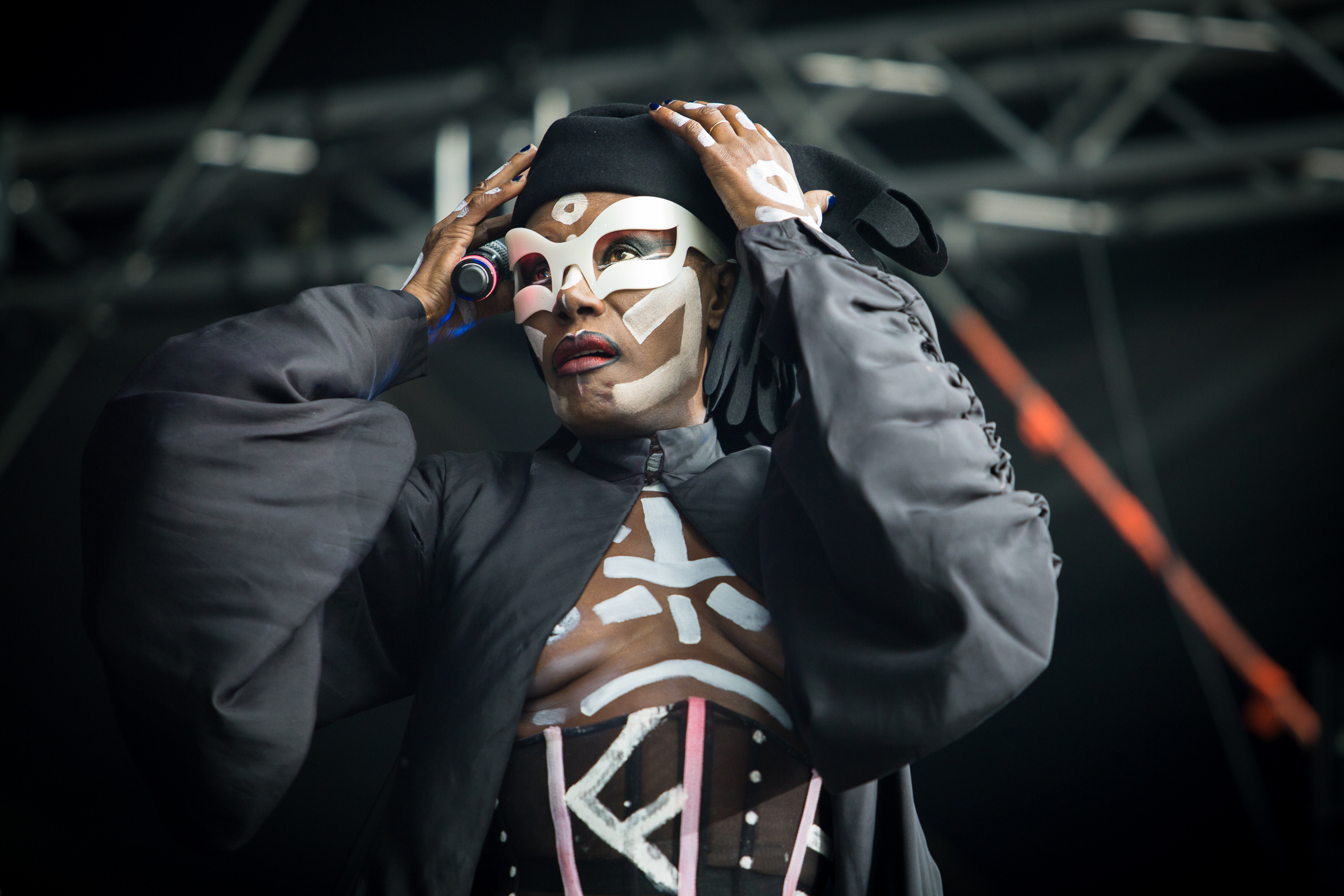 Grace Jones at Bergenfest 2015, Bergen.