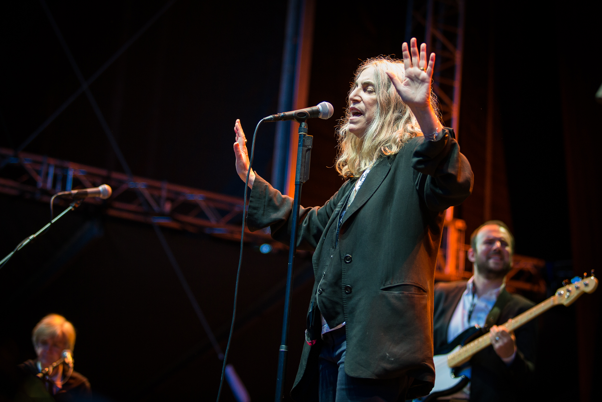 Patti Smith live at Bergenfest 2015, Bergen.
