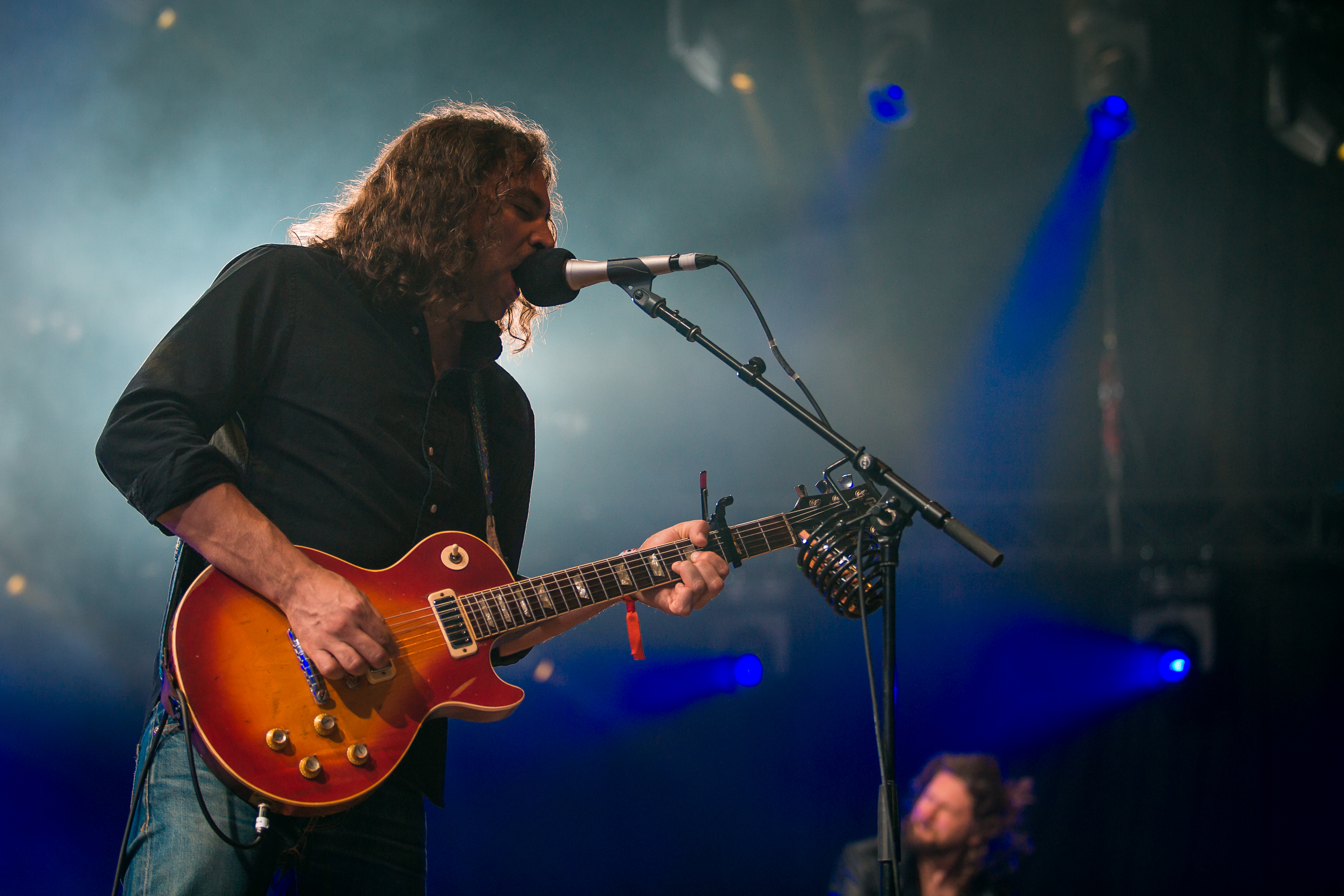 The War On Drugs live at Roskilde Festival 2014, Roskilde.