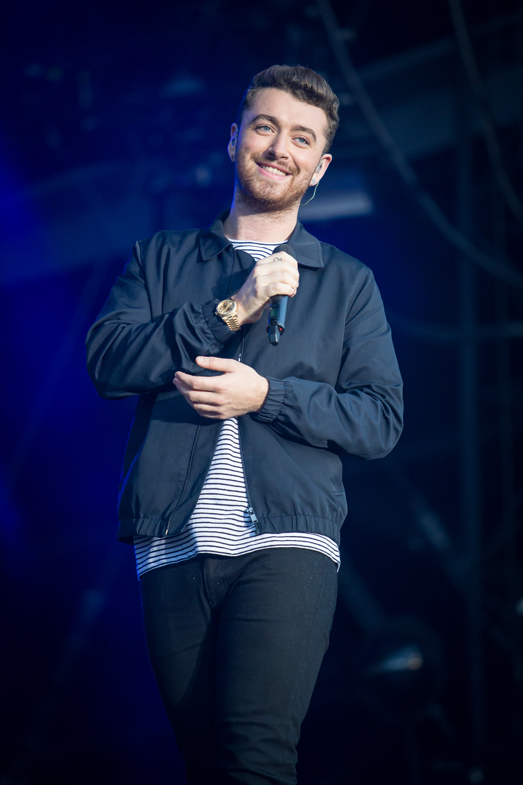 Sam Smith live at Lollapalooza Berlin 2015, Berlin.