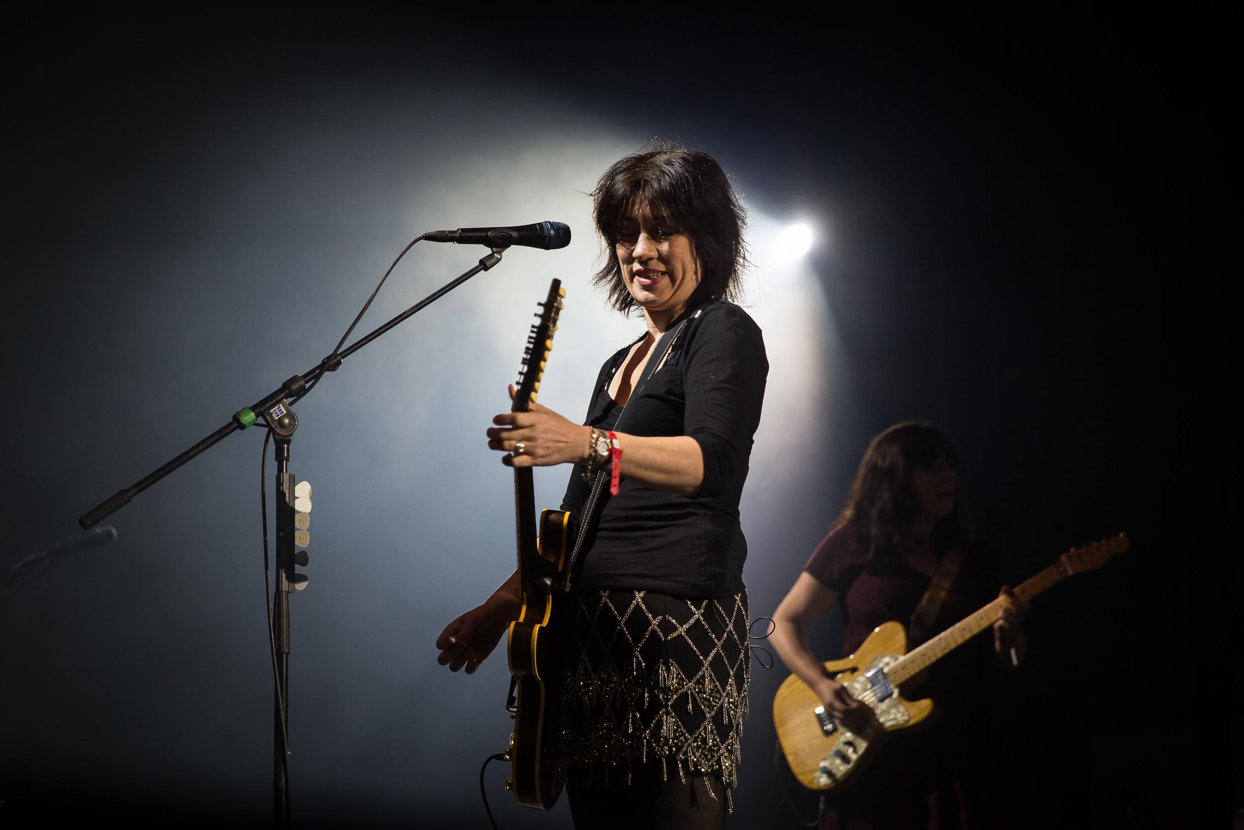Lush live at Øyafestivalen 2016, Oslo.