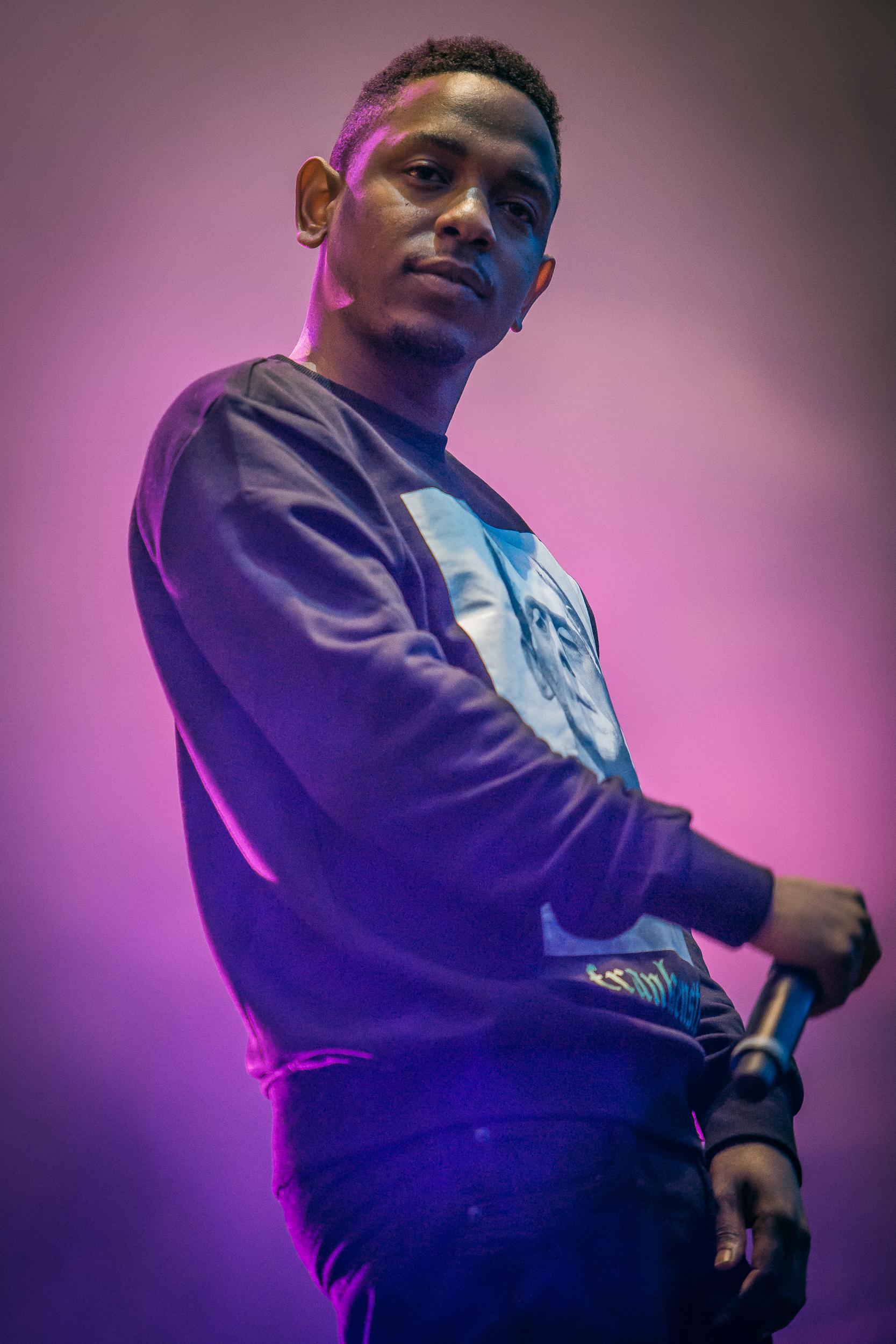 Kendrick Lamar live at Øyafestivalen 2013, Oslo.