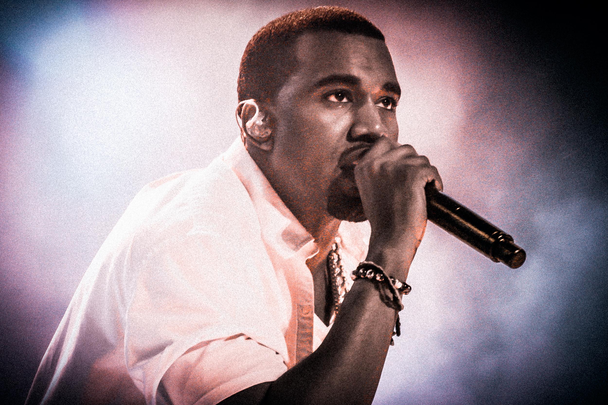 Kanye West at Øyafestivalen 2011, Oslo.