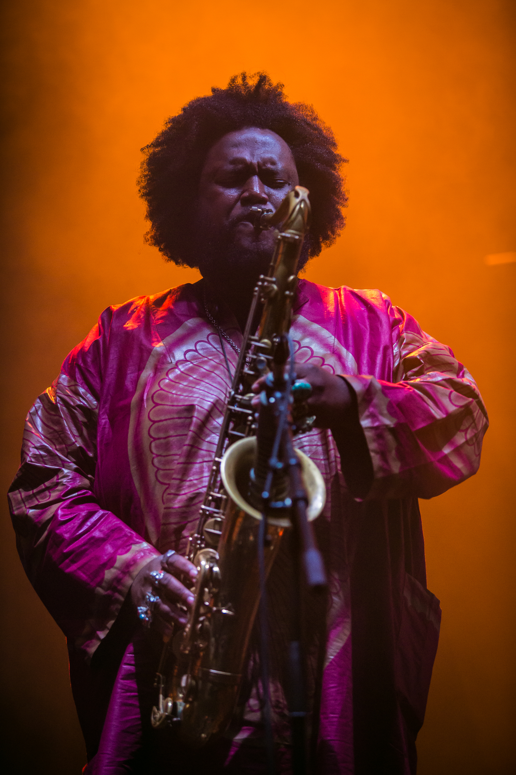 Kamasi Washington live at Primavera Sound 2016, Barcelona.