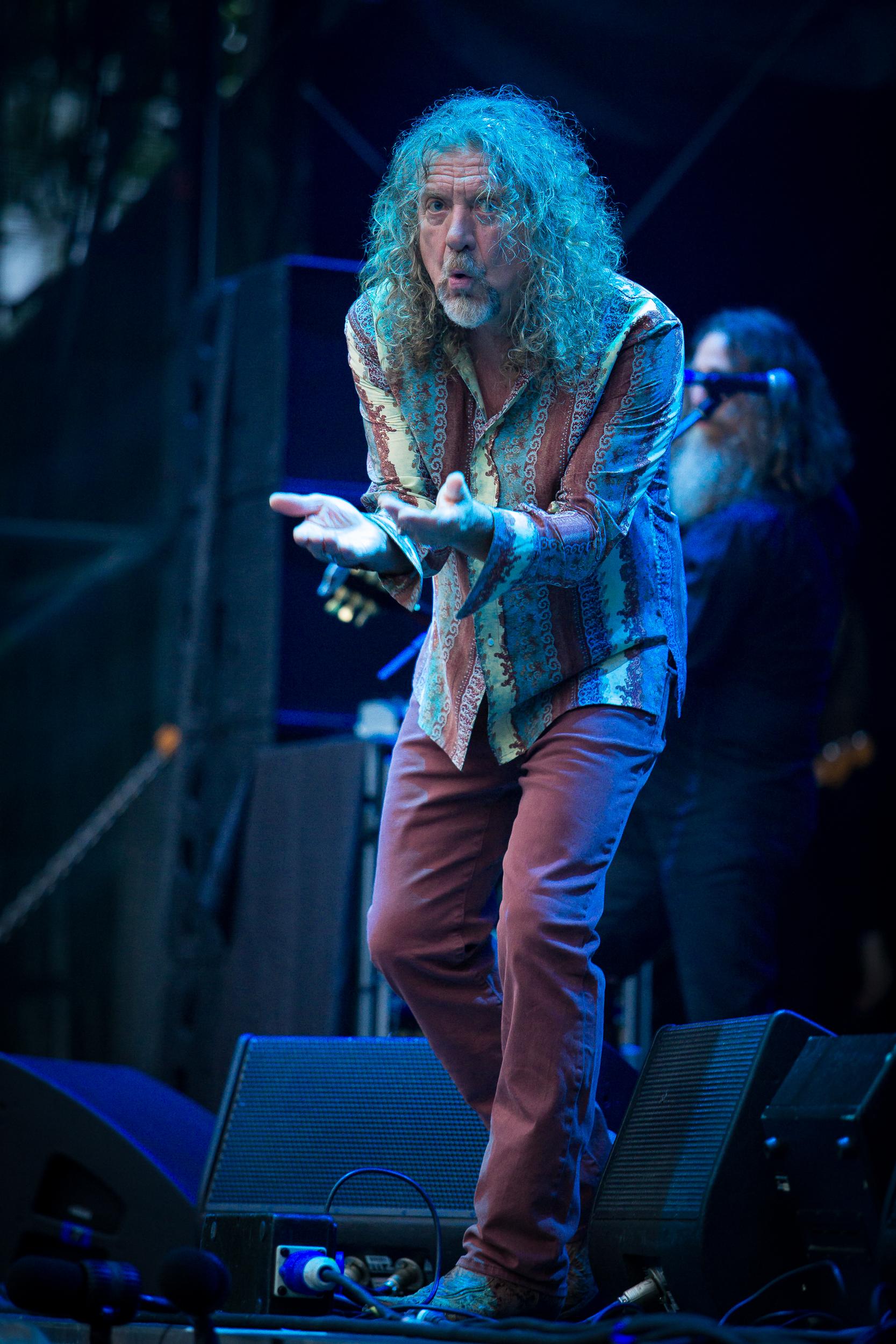 Robert Plant live at Bergenfest 2014, Bergen.