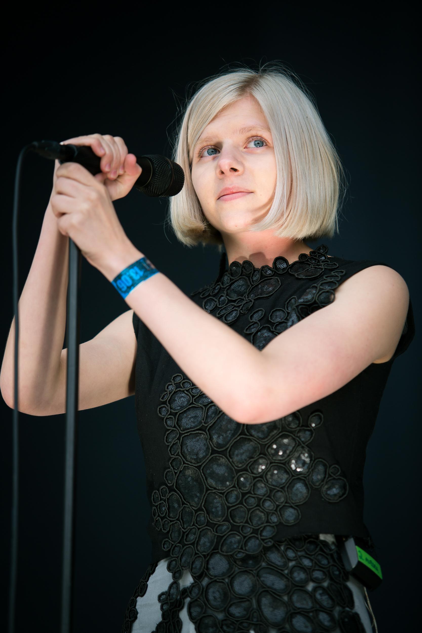 AURORA live at Bergenfest 2015, Bergen.