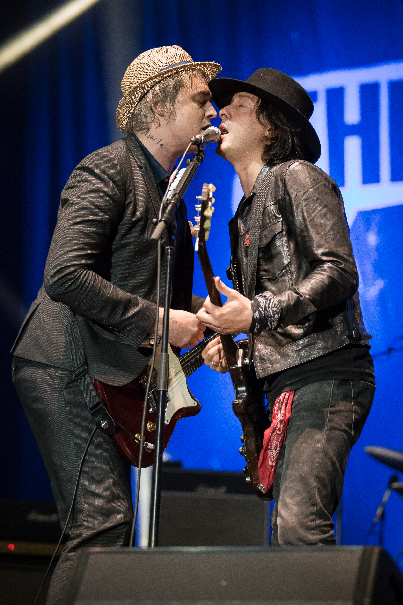 The Libertines live at Lollapalooza Berlin 2015, Berlin.