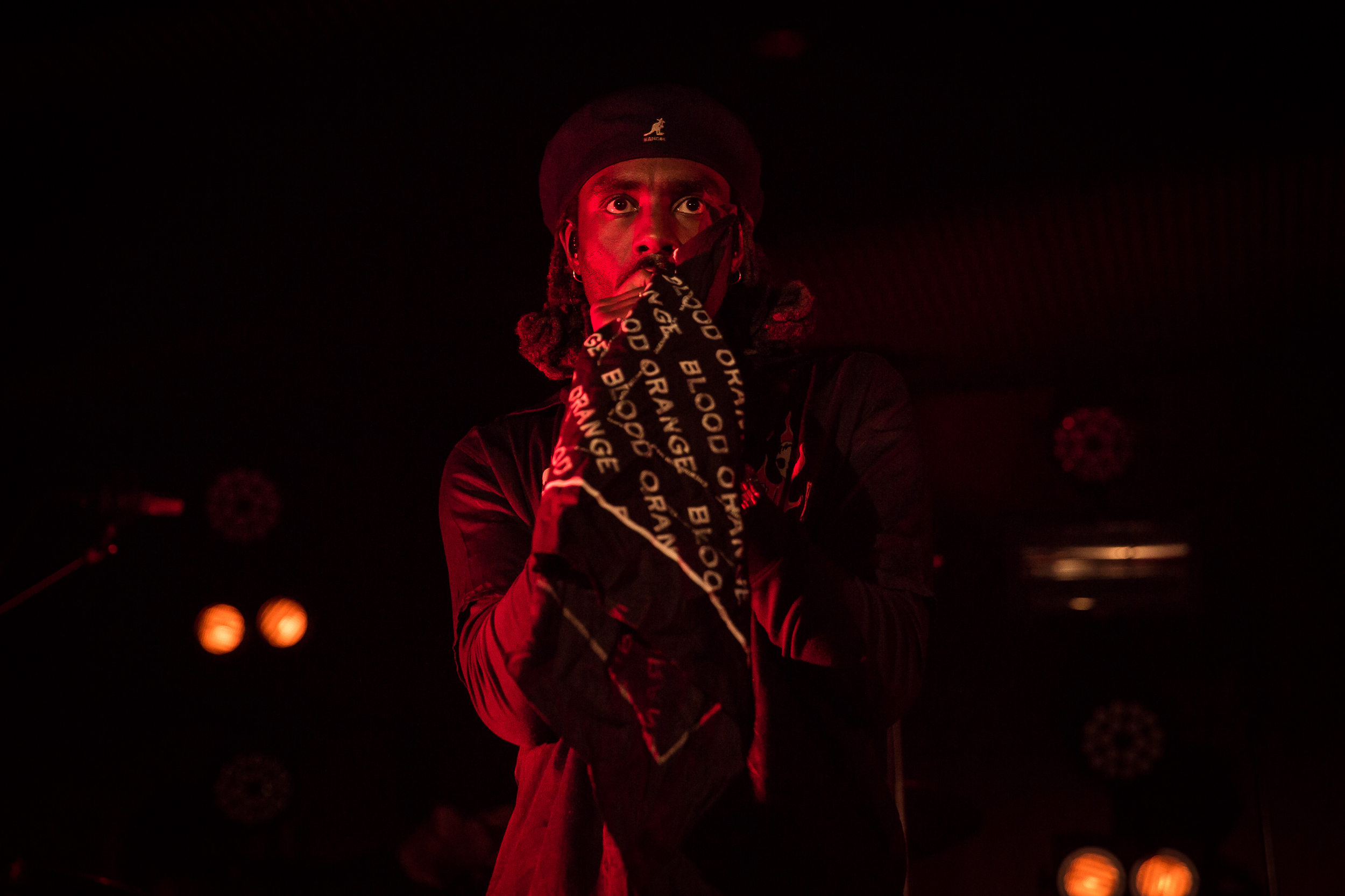 Blood Orange live at Harpa