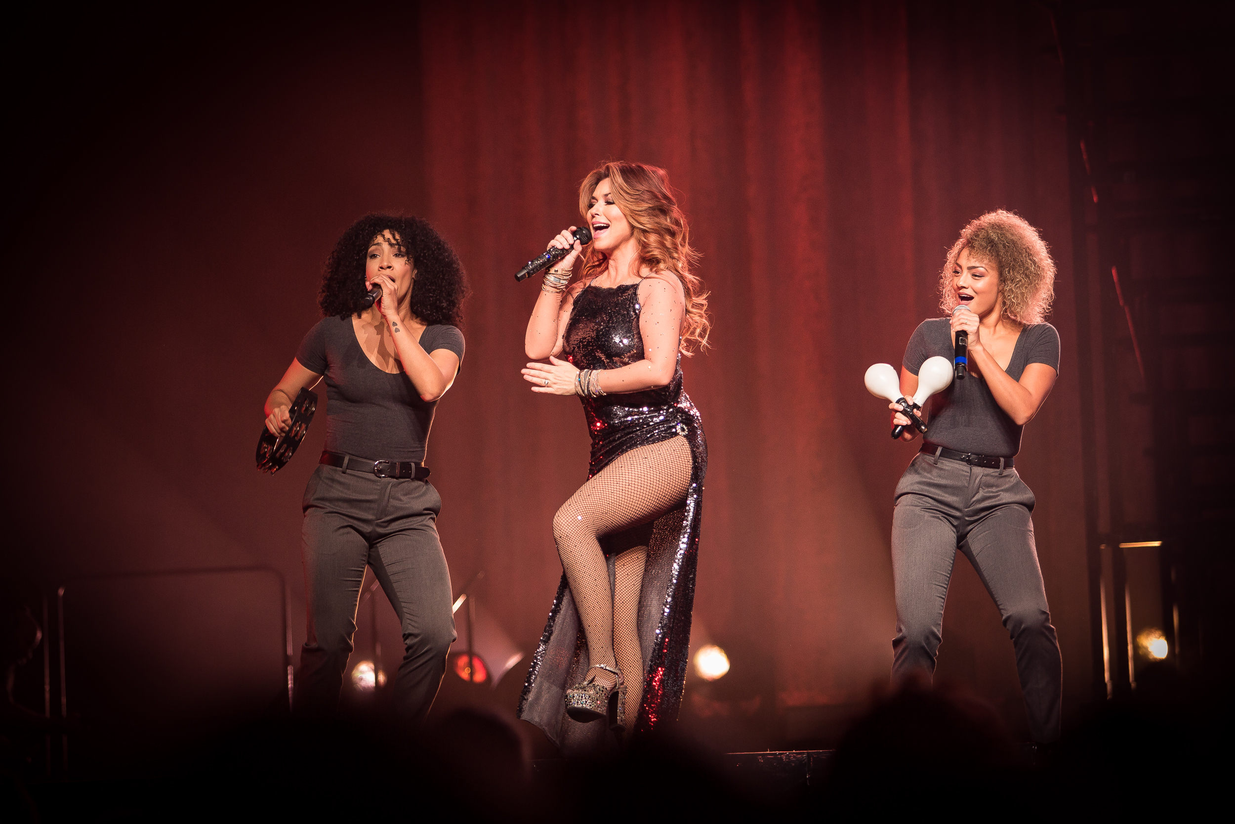 Shania Twain live at Oslo Spektrum