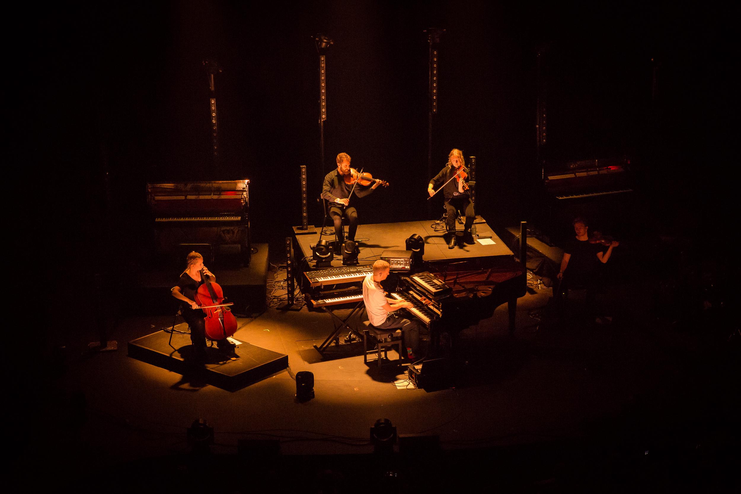 Ólafur Arnalds live at Iceland Airwaves