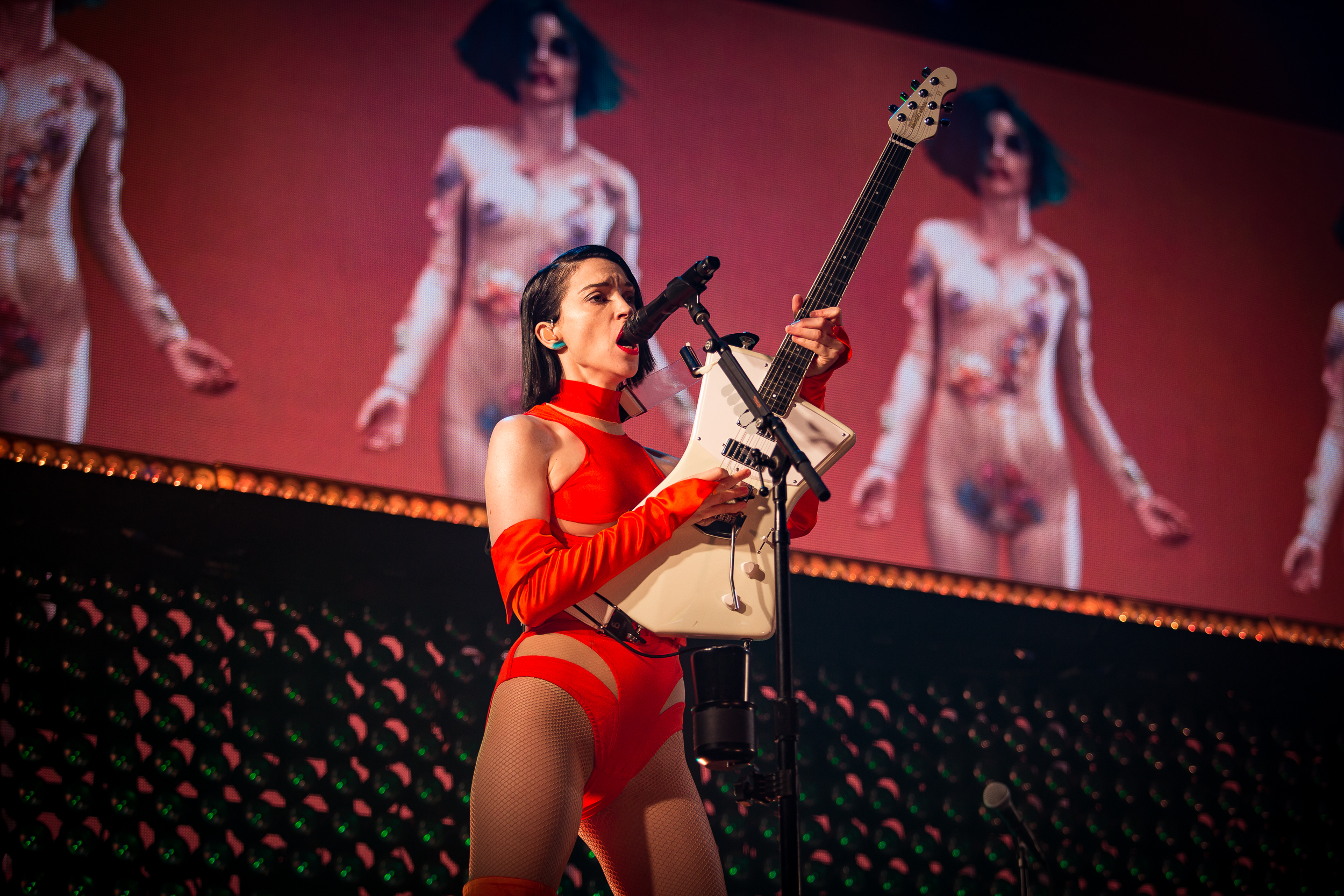 St. Vincent live at Øyafestivalen