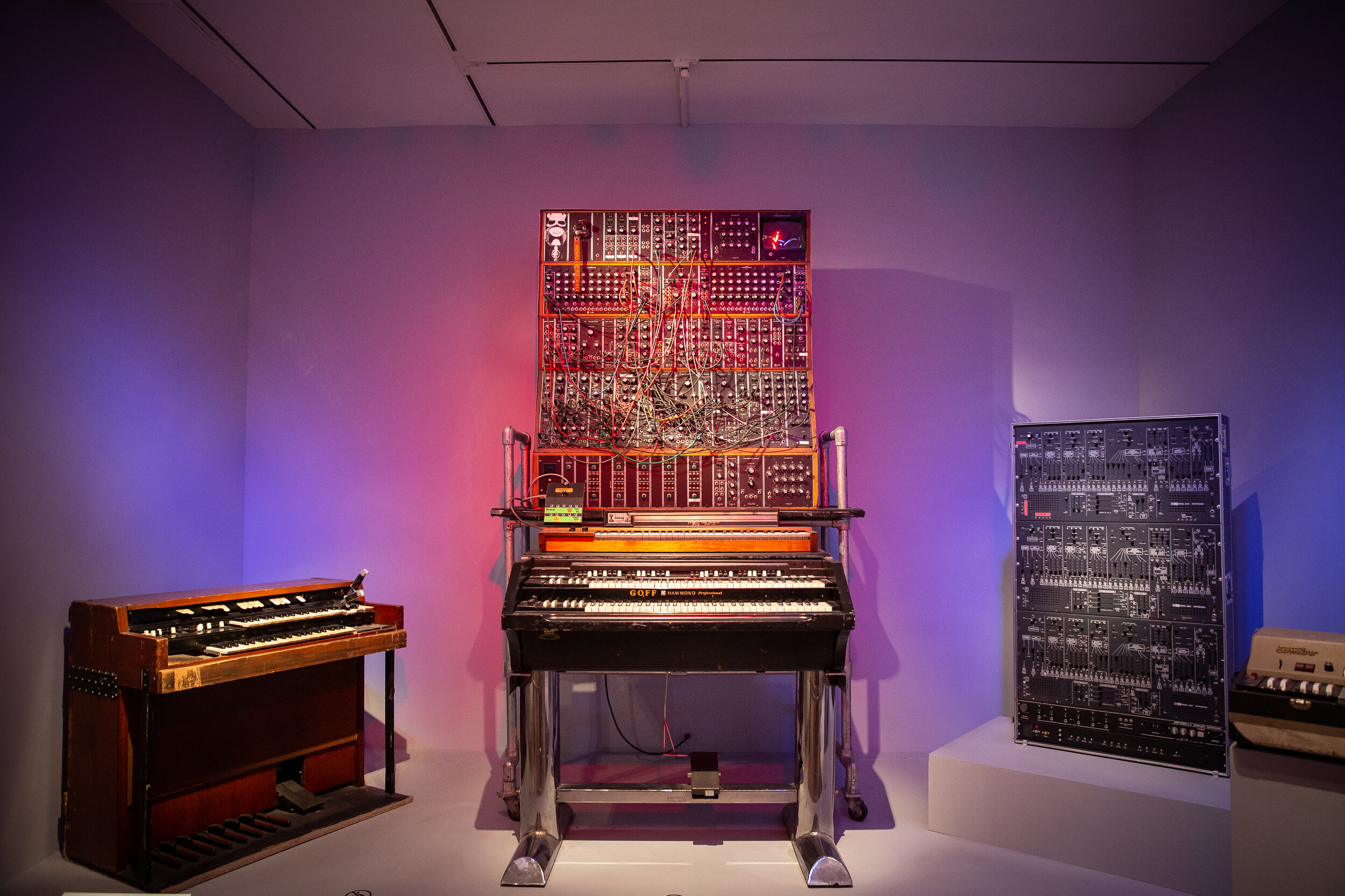 Keith Emerson's instrument park at The Metropolitan Museum of Art
