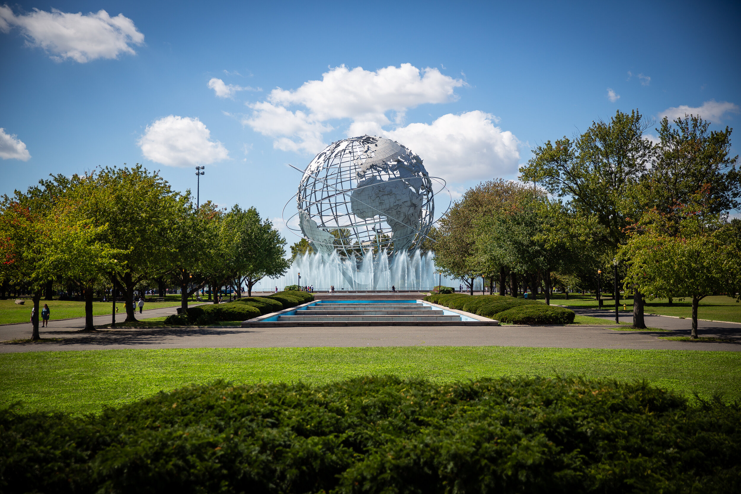 The Unisphere at Flushing Meadows-Corona Park in Queens