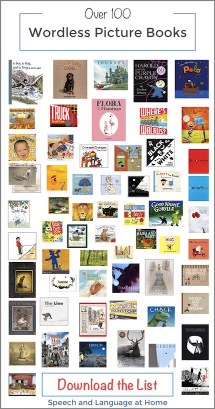 Over 100 Wonderful Wordless Picture Books to use for speech therapy at home.jpg