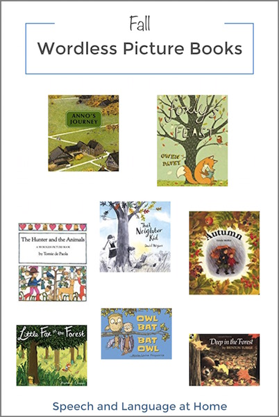 fall Wordless Picture Books for speech therapy at home.jpg