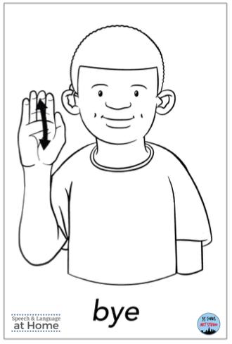 Early language parent handouts sign language bye.png
