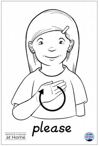 Early language parent handouts sign language please.png