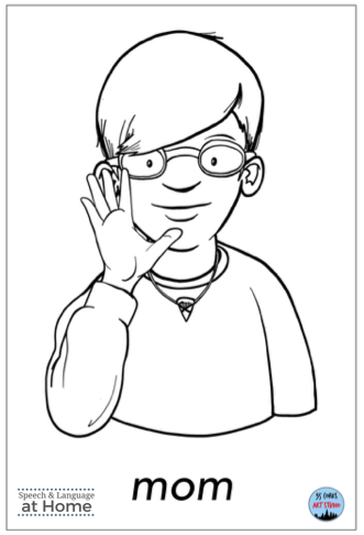 Early language parent handouts sign language mom.png