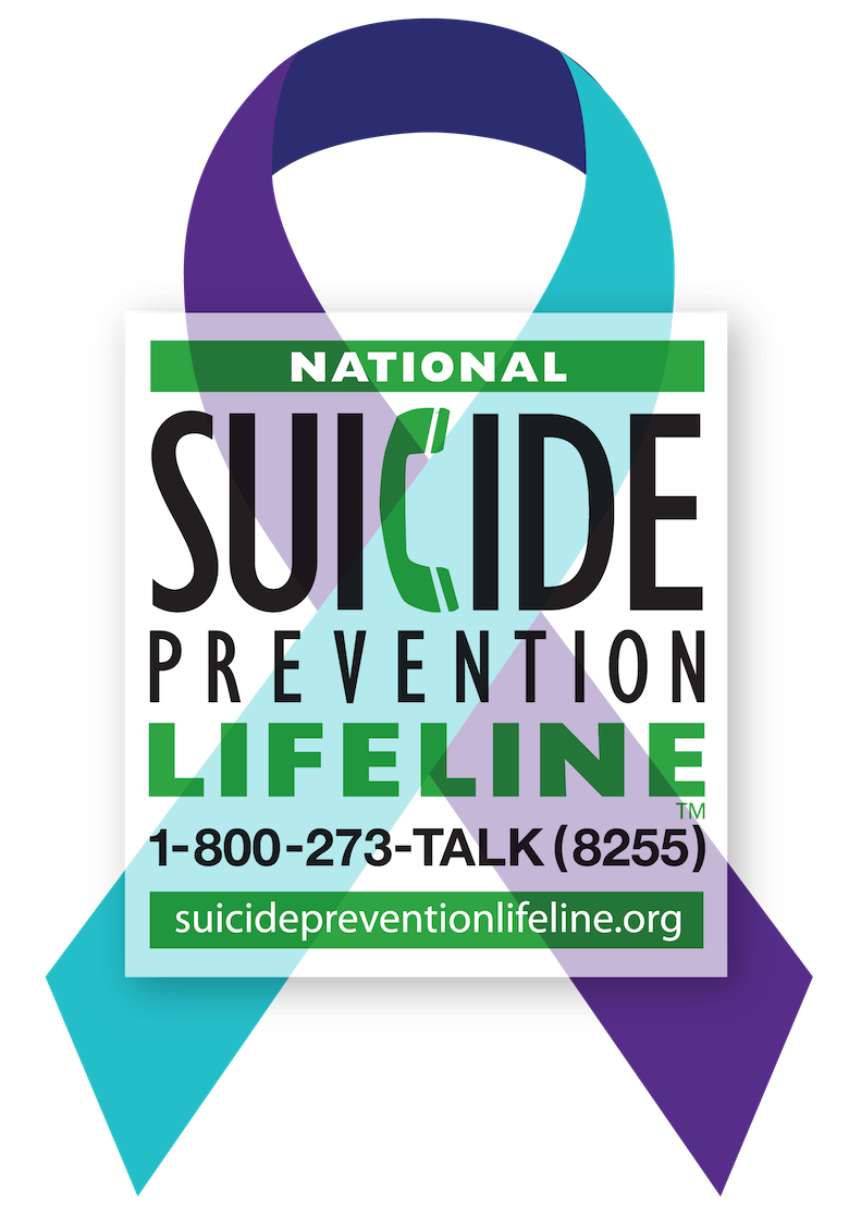 The National Suicide Prevention Lifeline provides 24/7, free and confidential support for people in distress, prevention and crisis resources for you or your loved ones, and best practices for professionals. 800-273-TALK or suicidepreventionlifeline.org -