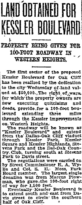 The Dallas Morning News – January 8, 1925