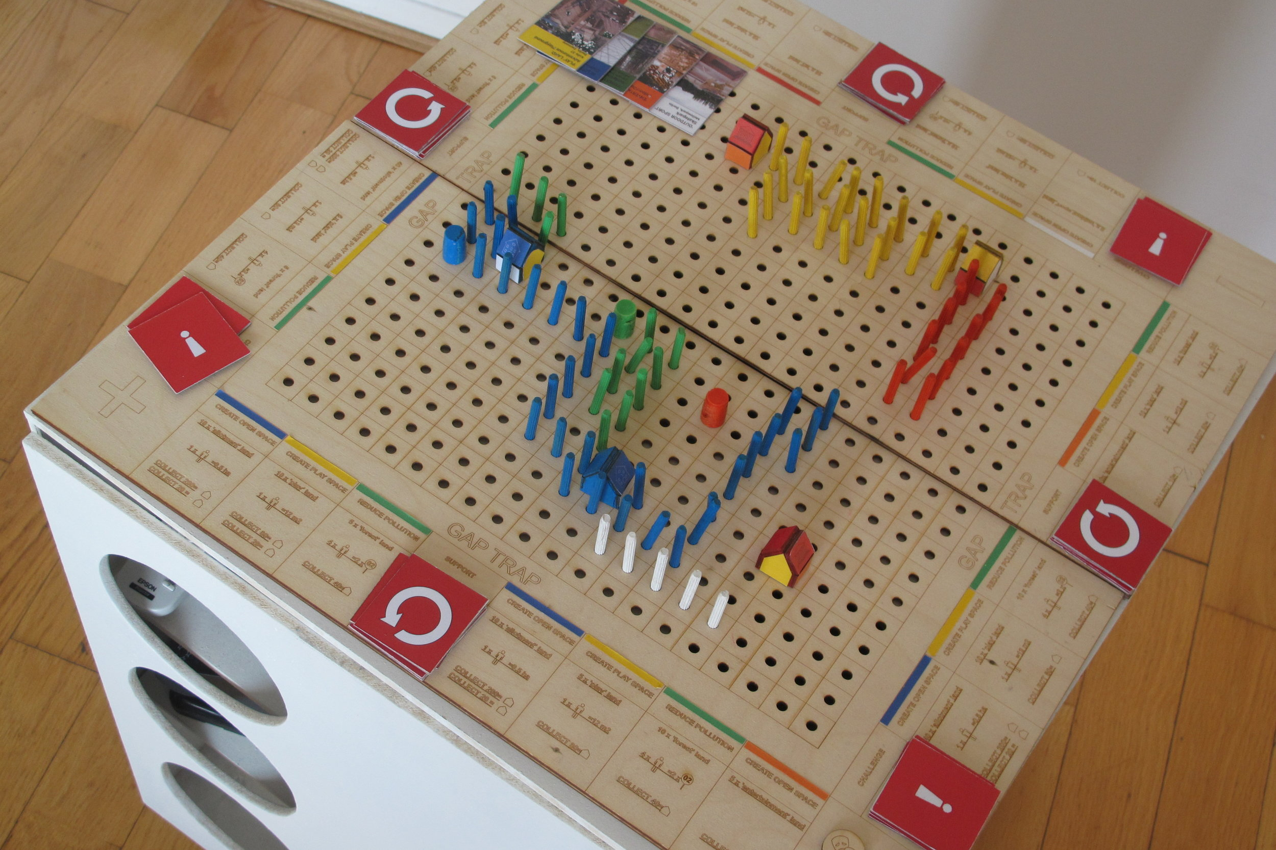 Urban Game 'Trap the Gap'