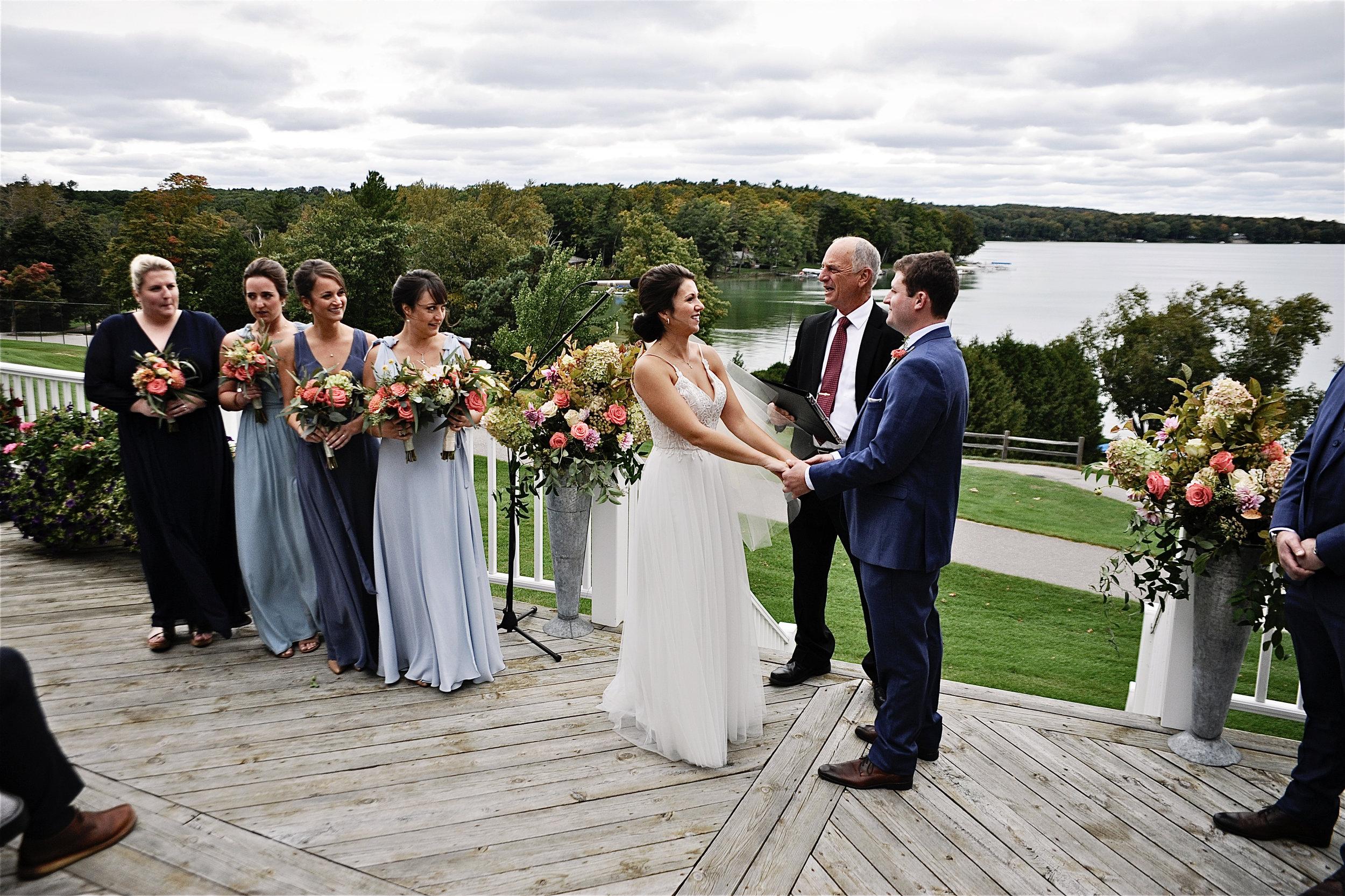 Marina Semone Michigan bride