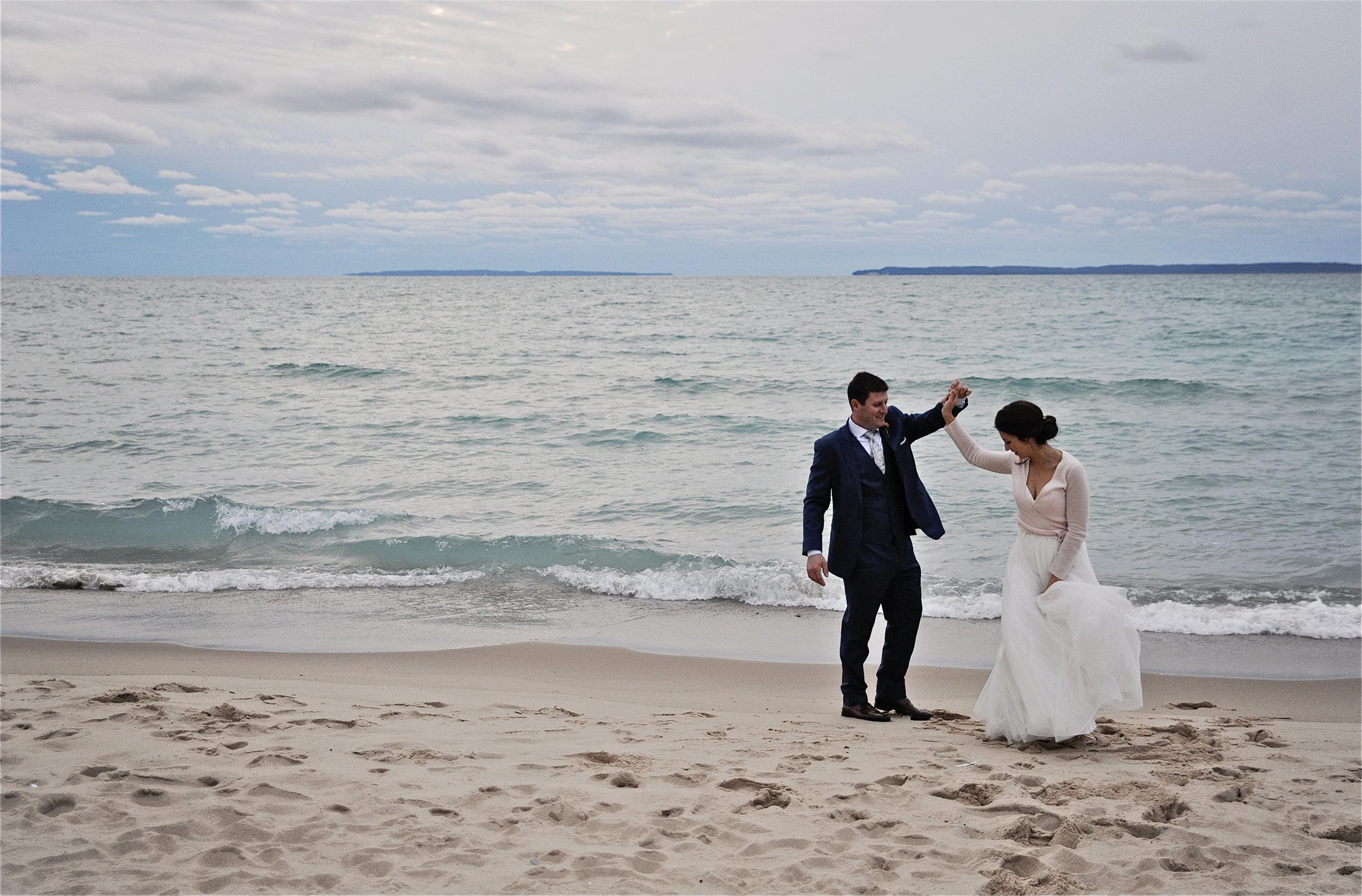 real marina semone michigan bride