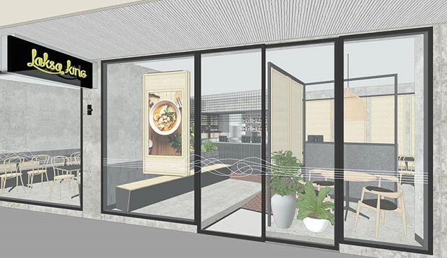 get ready 😊 . . . . . . . . . . . . . . #laksaking #restaurantdesign