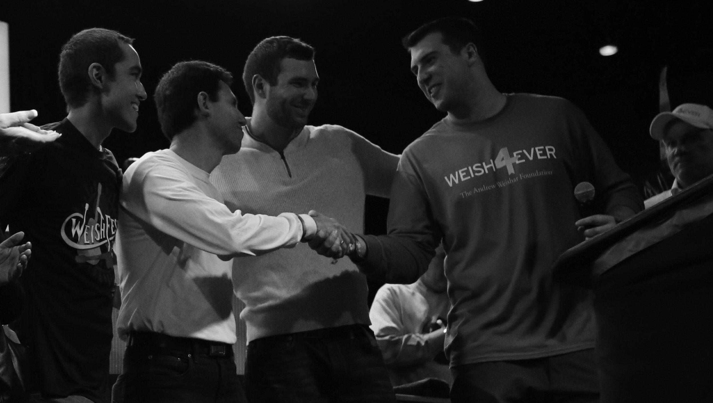 WeishFest 2016 Handshake with Danny Weishar and Nic Weishar